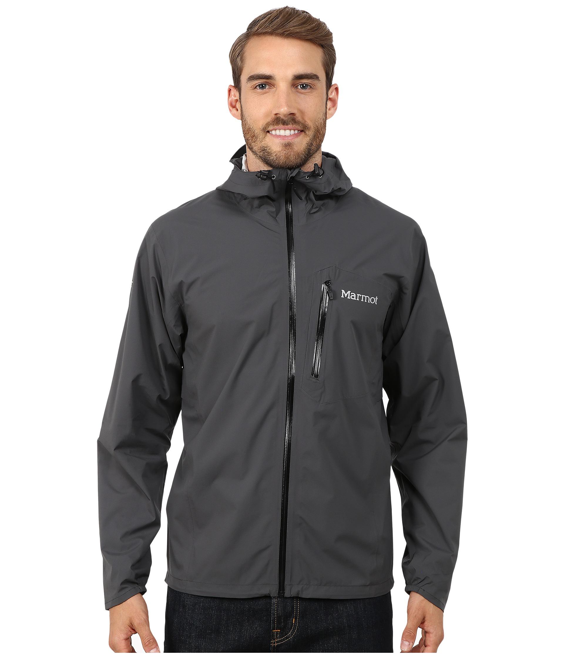 Marmot Essence Jacket In Slate Grey Gray For Men Lyst
