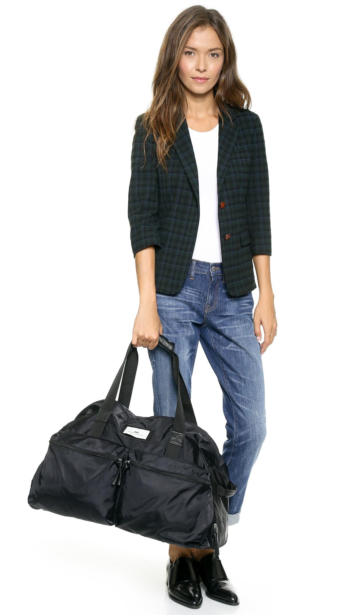 Day birger et mikkelsen Day Gweneth Travel Bag Black in Black | Lyst