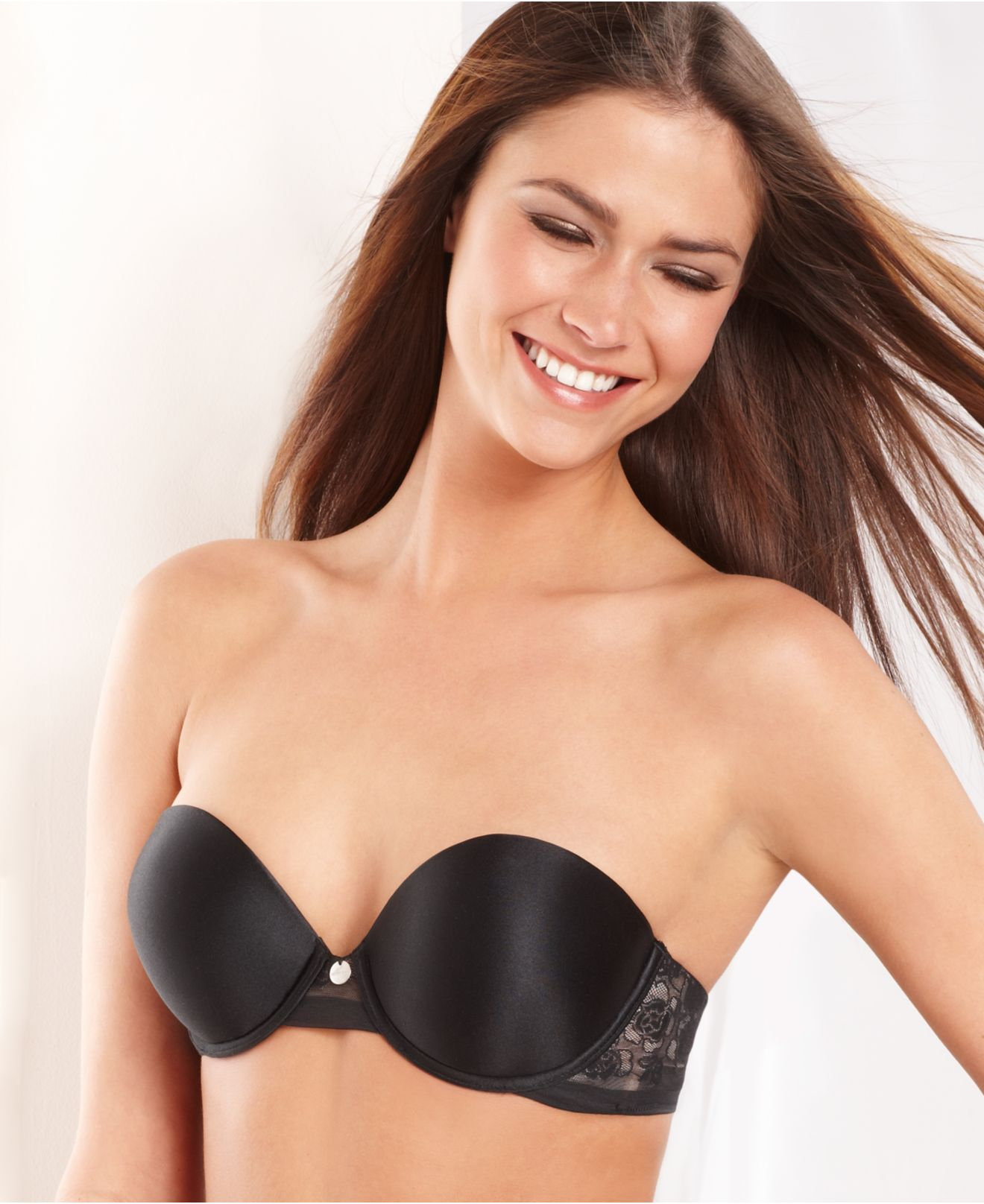 Dkny Super Glam Add 2 Cup Sizes Push Up Bra 458111 In