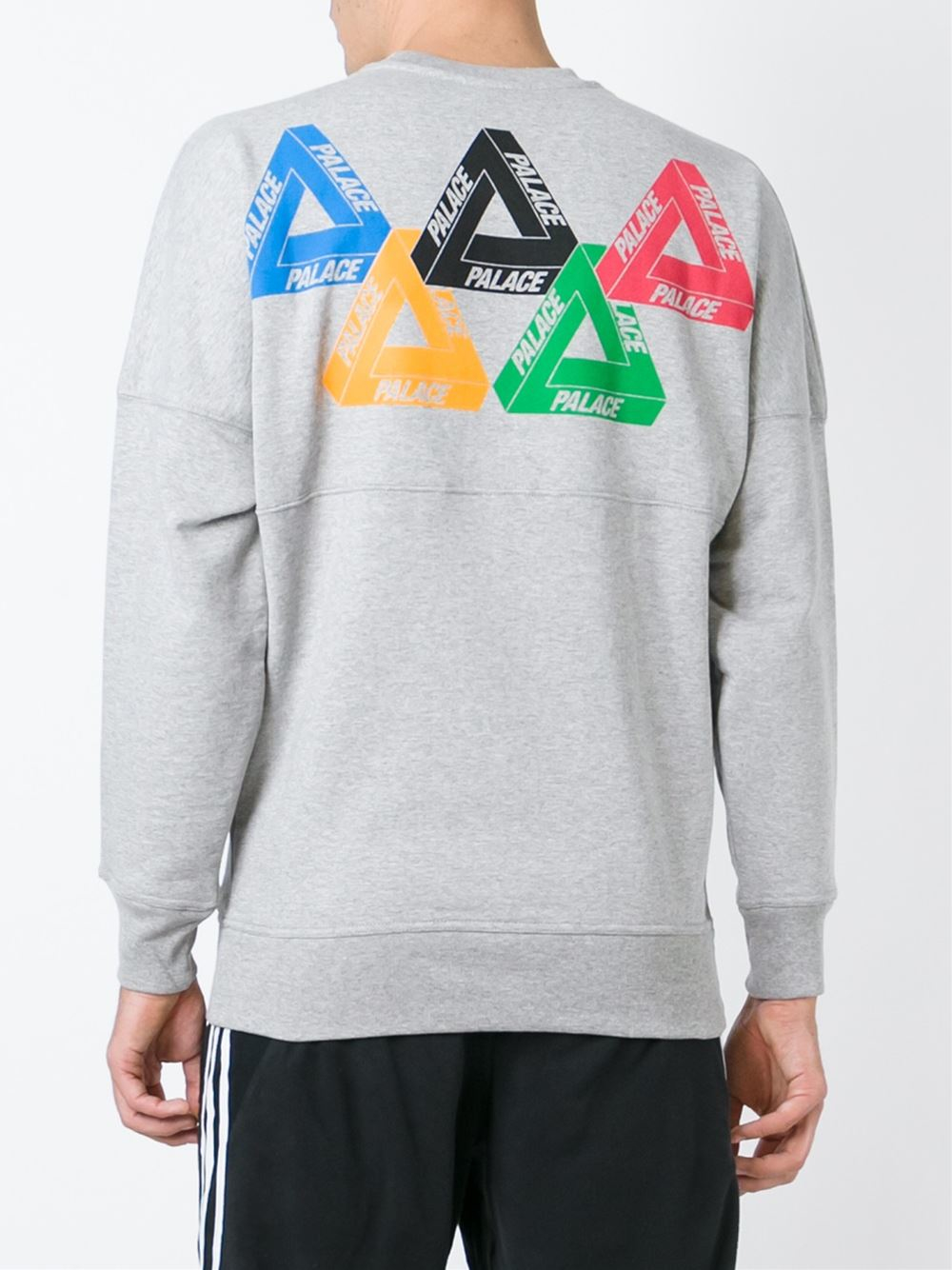 Palace U0026#39;olympicu0026#39; Sweatshirt In Gray For Men | Lyst