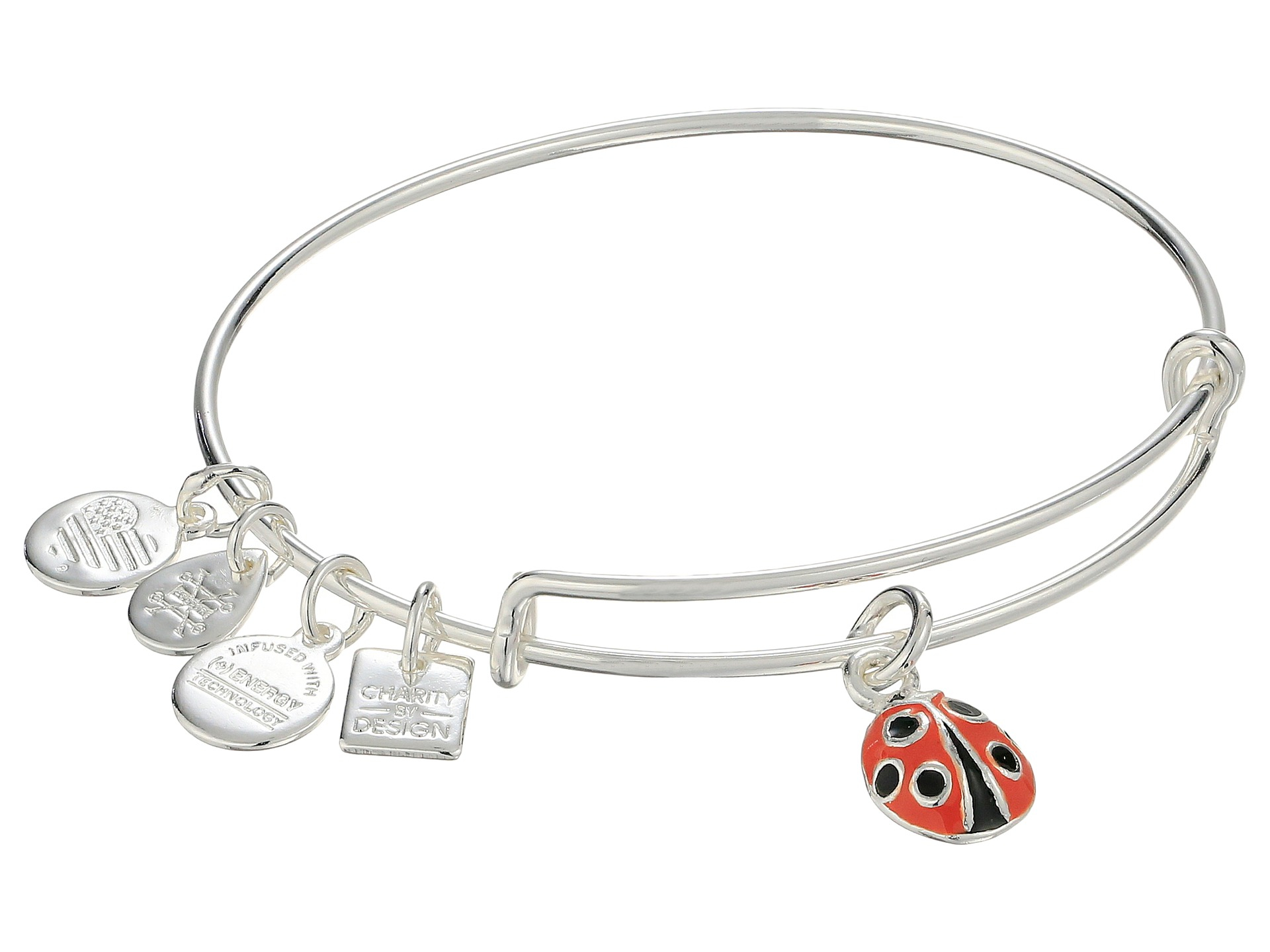 alex and ani charity by design bug bracelet in