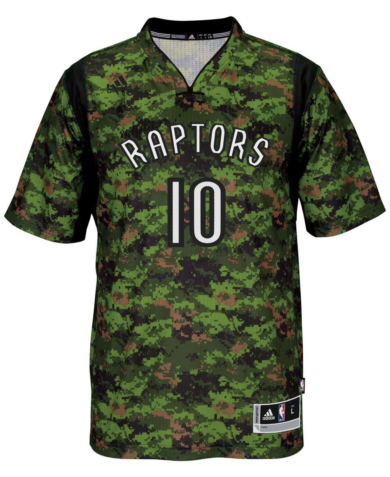 adidas Men'S Short-Sleeve Demar Derozan Toronto Raptors Swingman ...