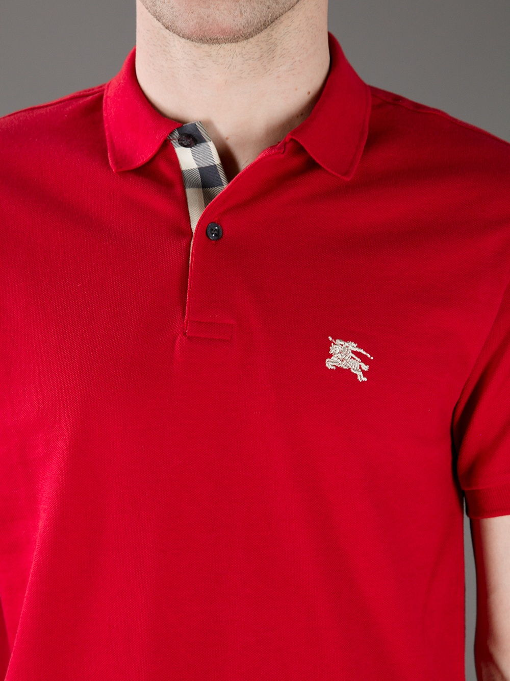 19b694983 Burberry Brit Classic Polo Shirt in Red for Men - Lyst