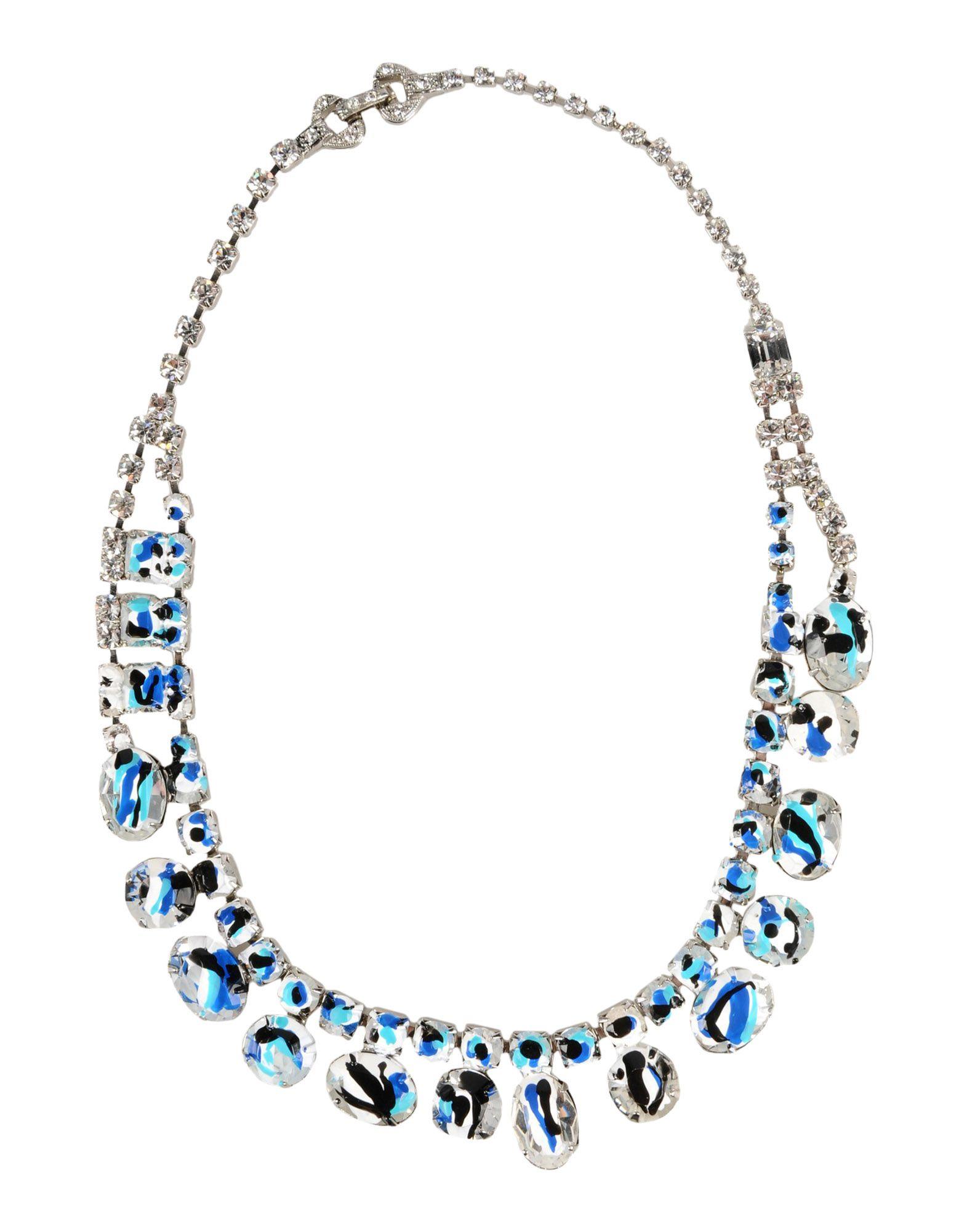 tom binns necklace in metallic lyst