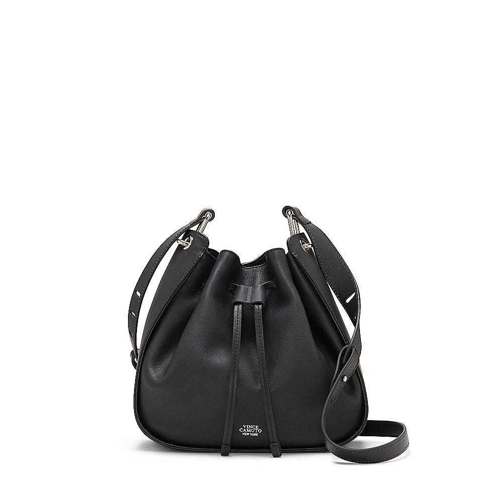 Vince camuto Rayli - Drawstring Crossbody Bag in Black | Lyst