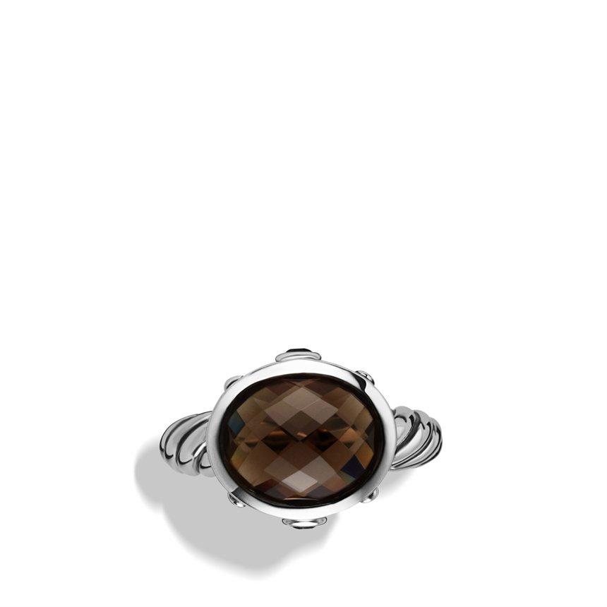David Yurman Renaissance Ring Smoky Quartz
