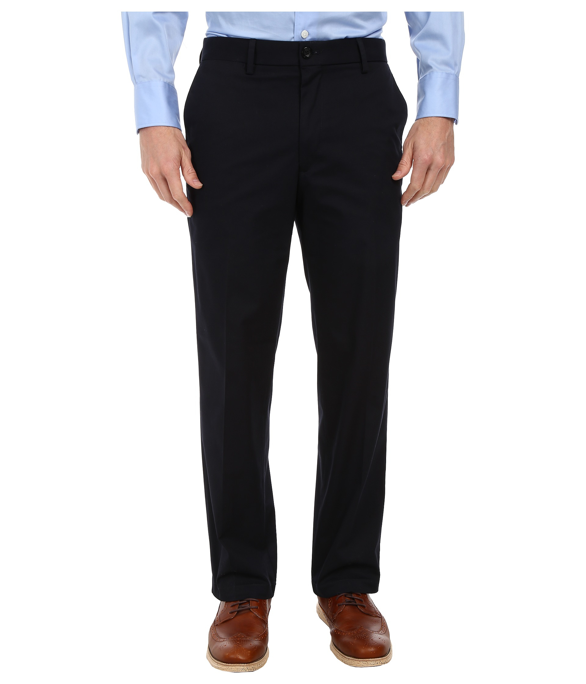Dockers Signature On The Go Khaki Pants in Blue for Men | Lyst