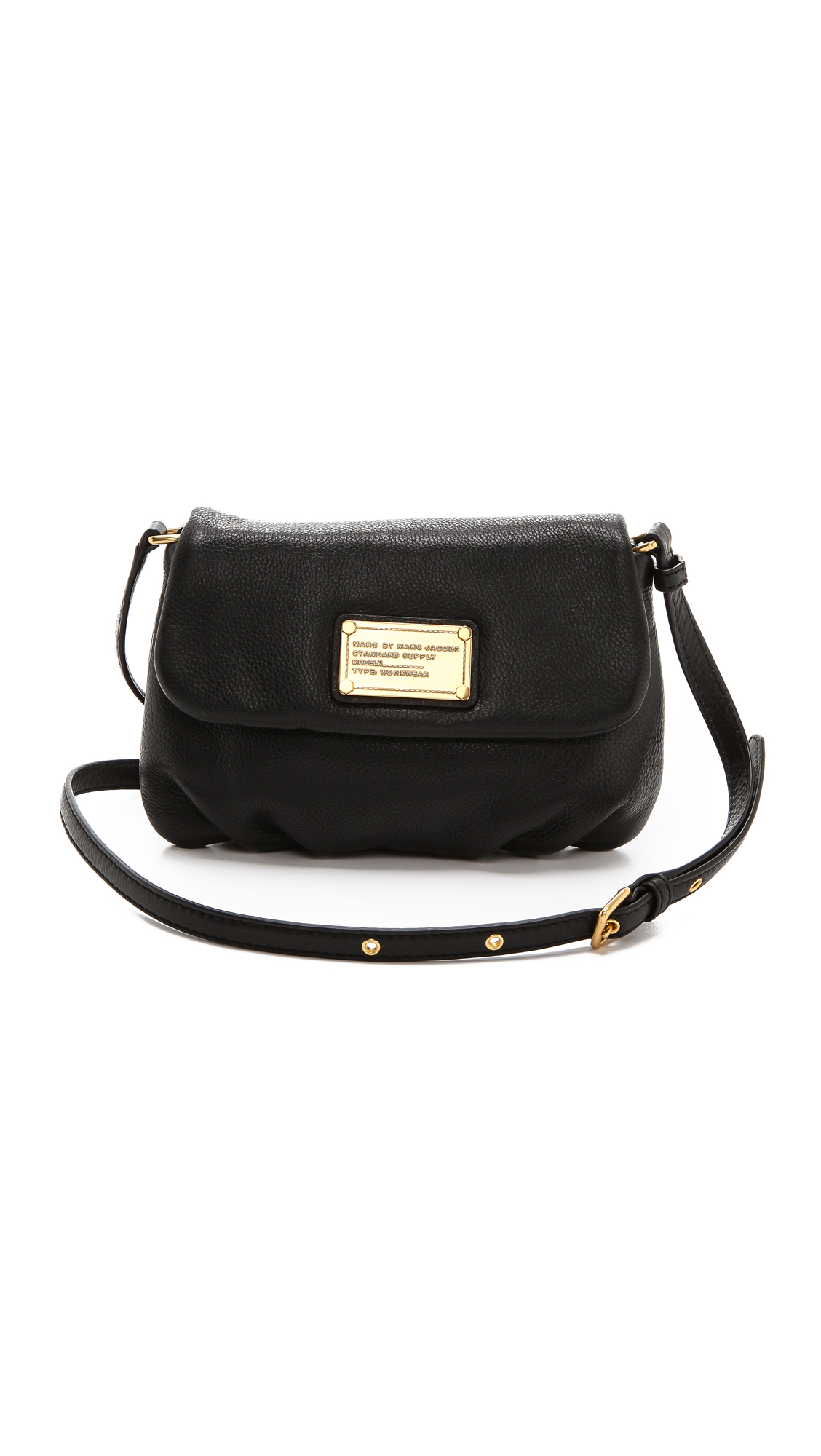 e87653637d85 Lyst - Marc By Marc Jacobs Classic Q Percy Leather Cross-Body Bag in ...