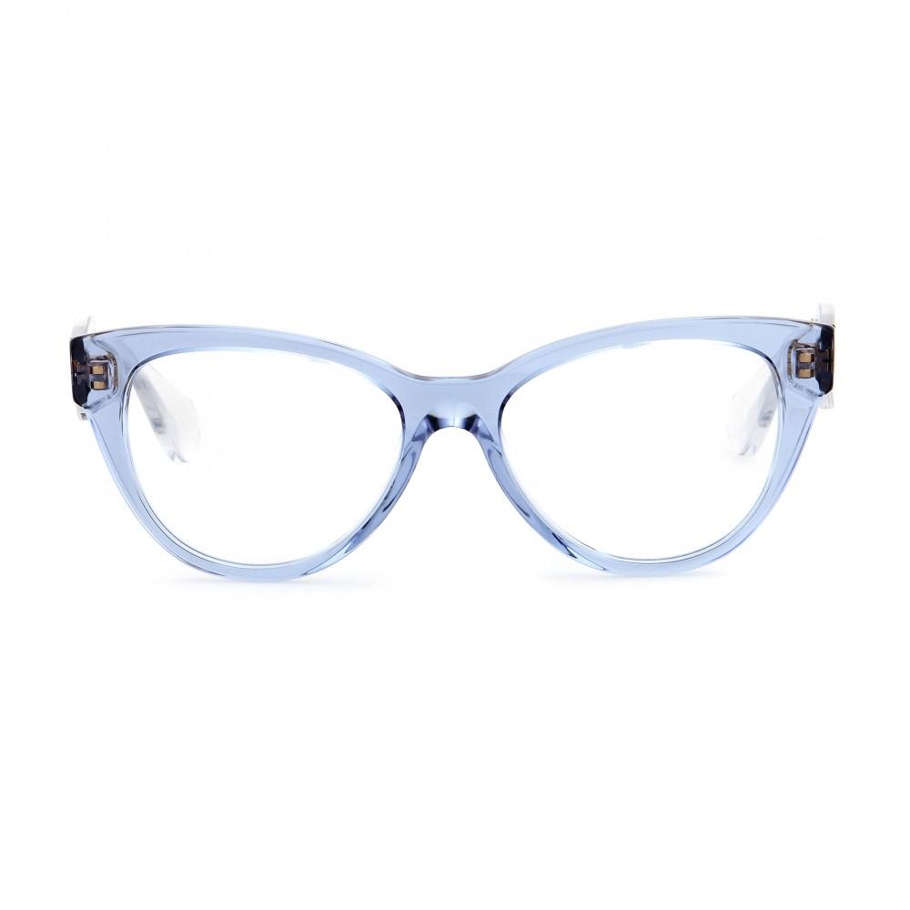 miu miu cat eye optical glasses lyst