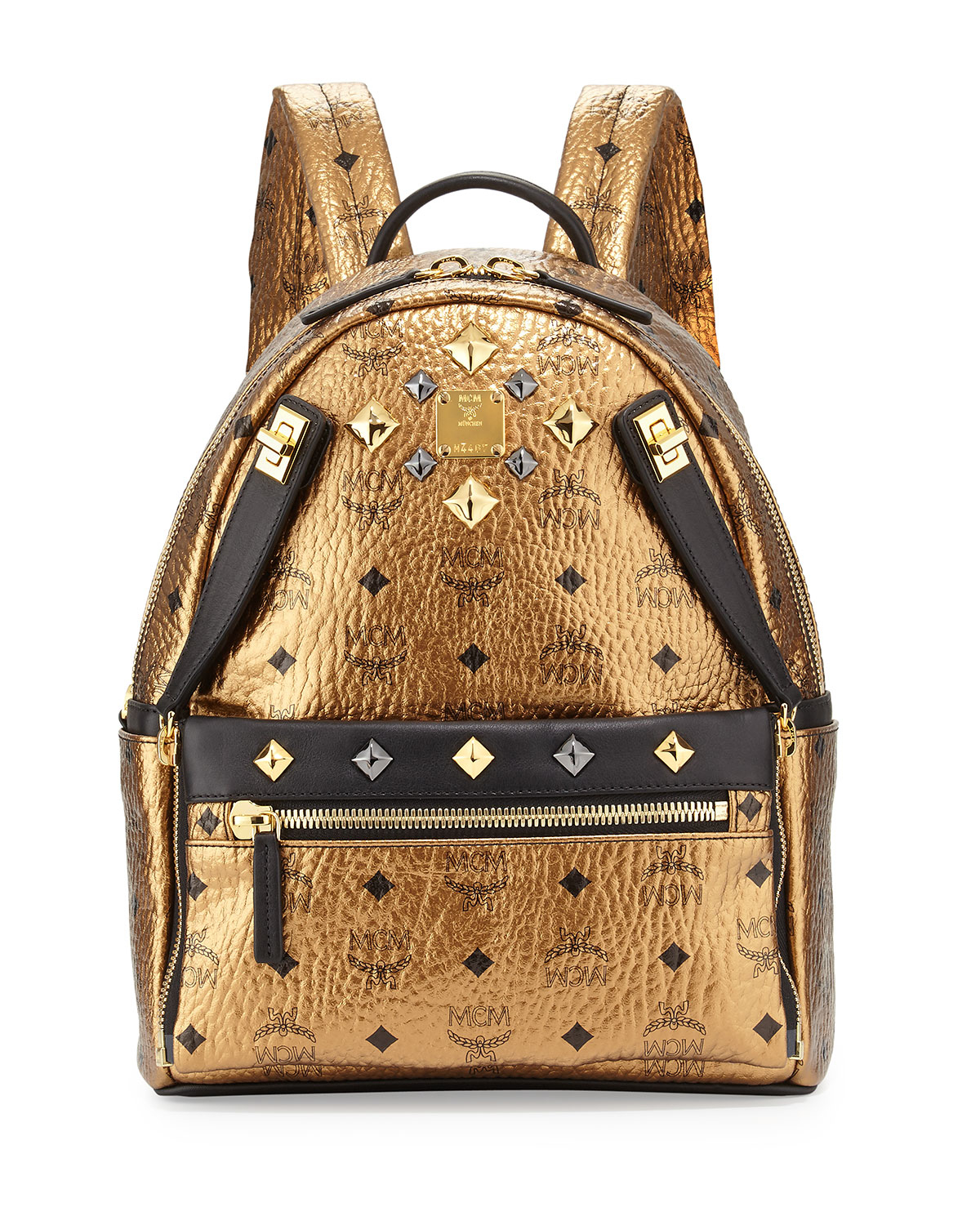 ... Stark Backpack Small Beige. MCM. d9019d1389ca2