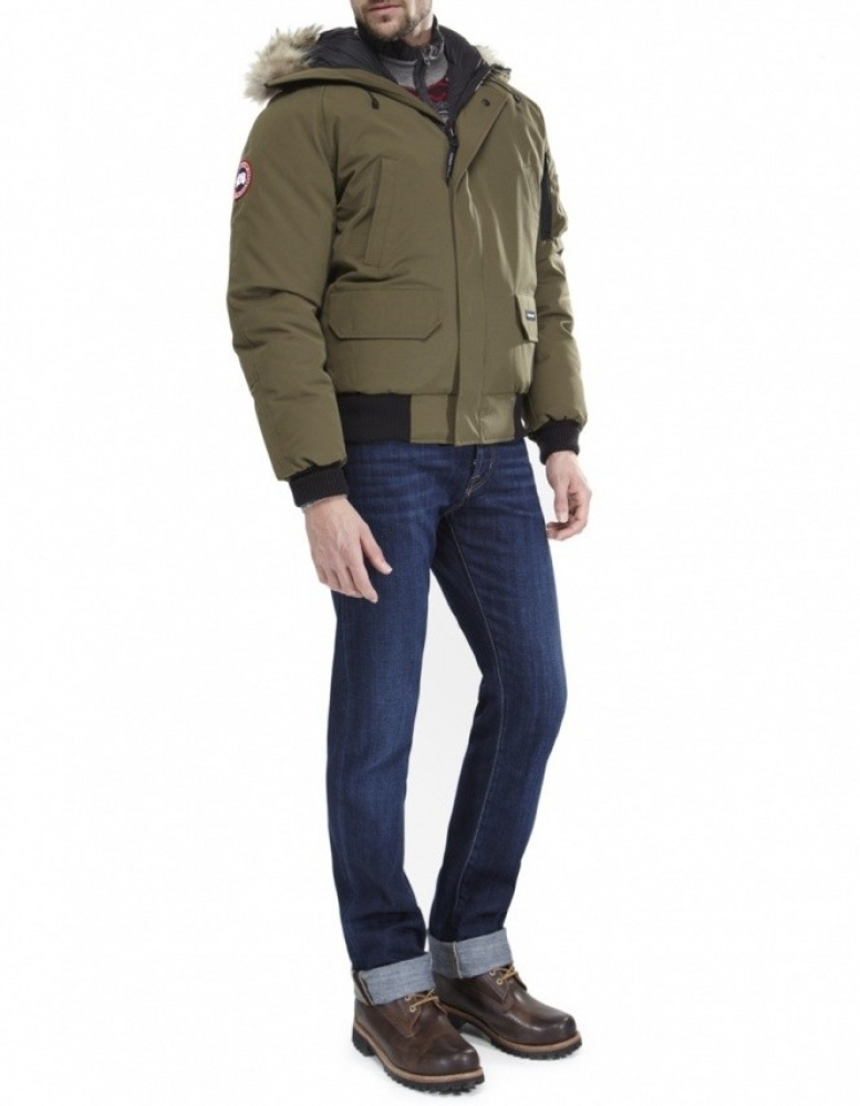 Canada Goose victoria parka outlet discounts - Canada goose Chilliwack Bomber Jacket in Green for Men (Olive) | Lyst