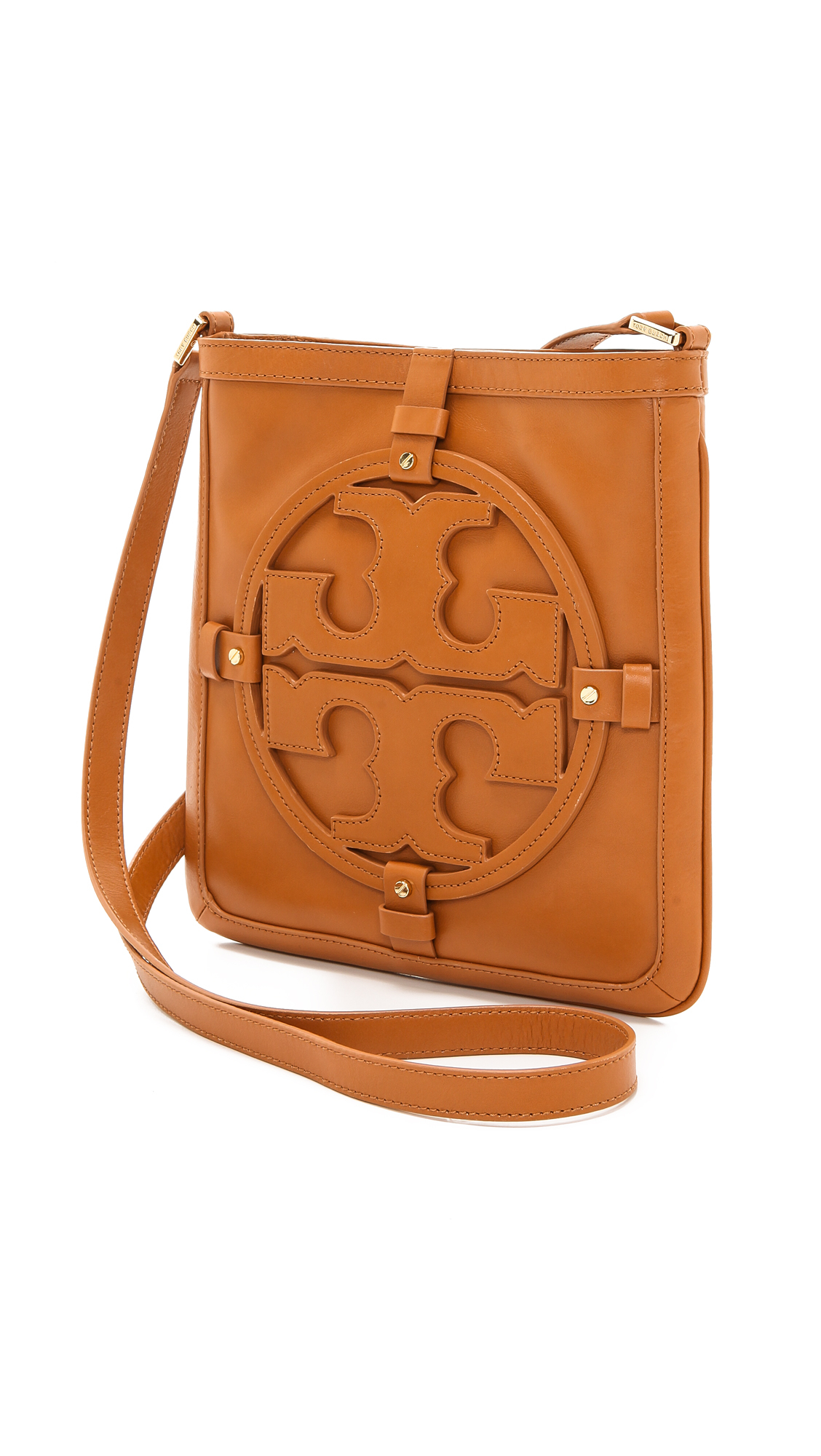 Tory Burch Holly Book Bag In Brown
