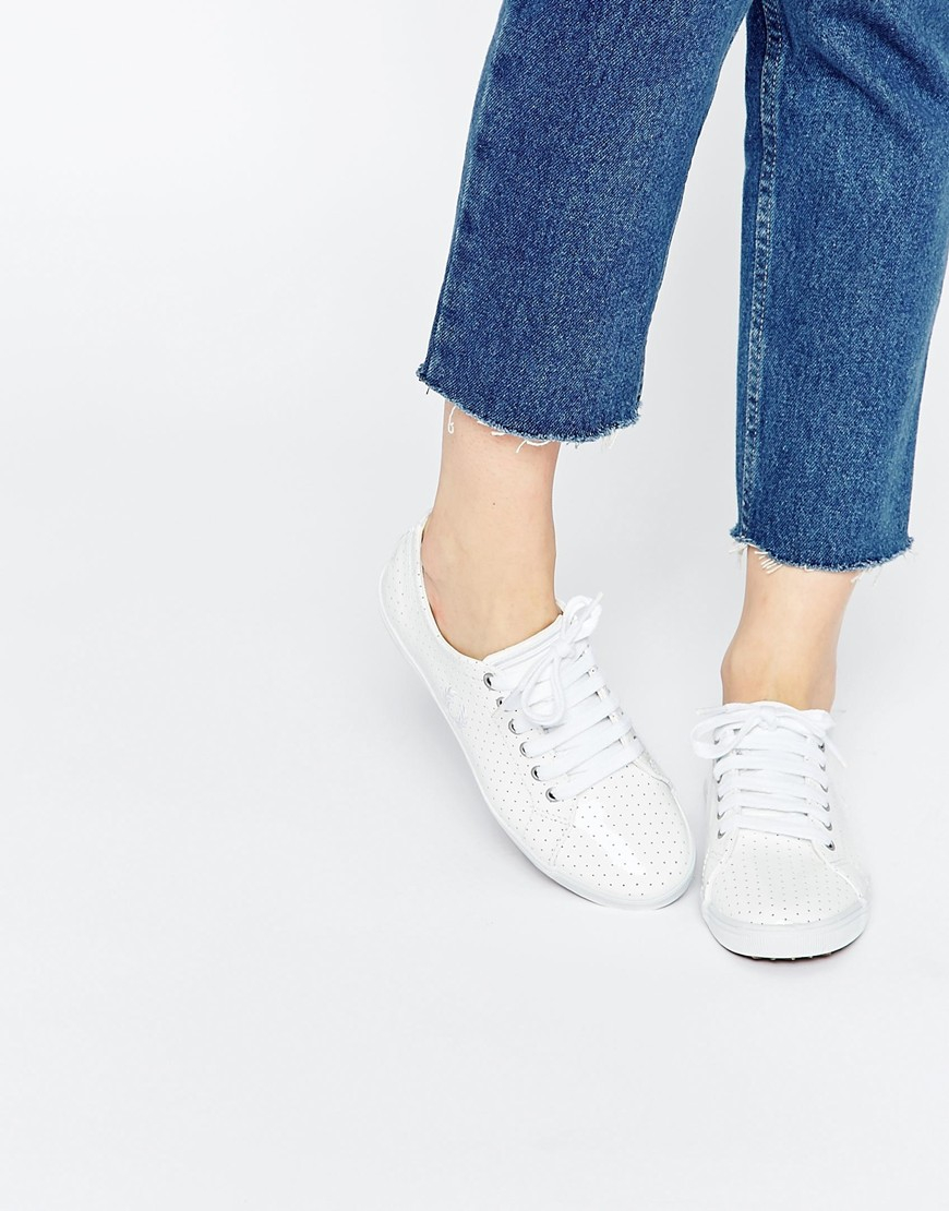 Fred Perry Kingston White Perforated