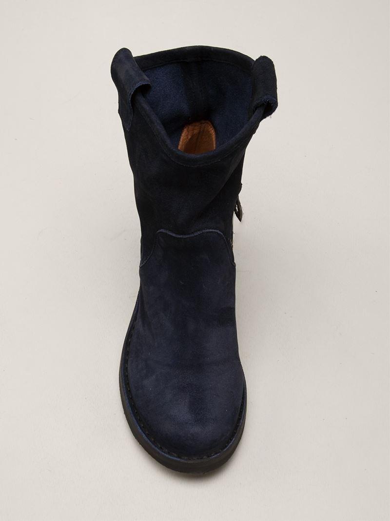 Fiorentini + Baker 'Nuna' Boots in Blue