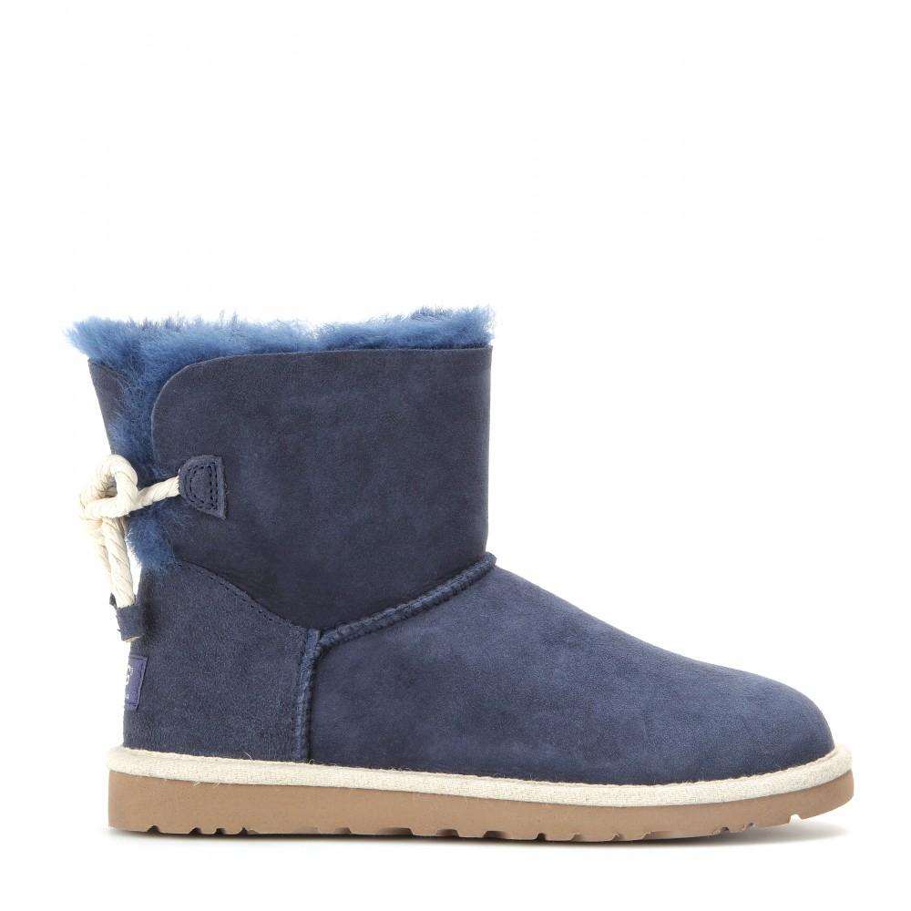 c90668121d7 UGG Blue Selene Suede Boots