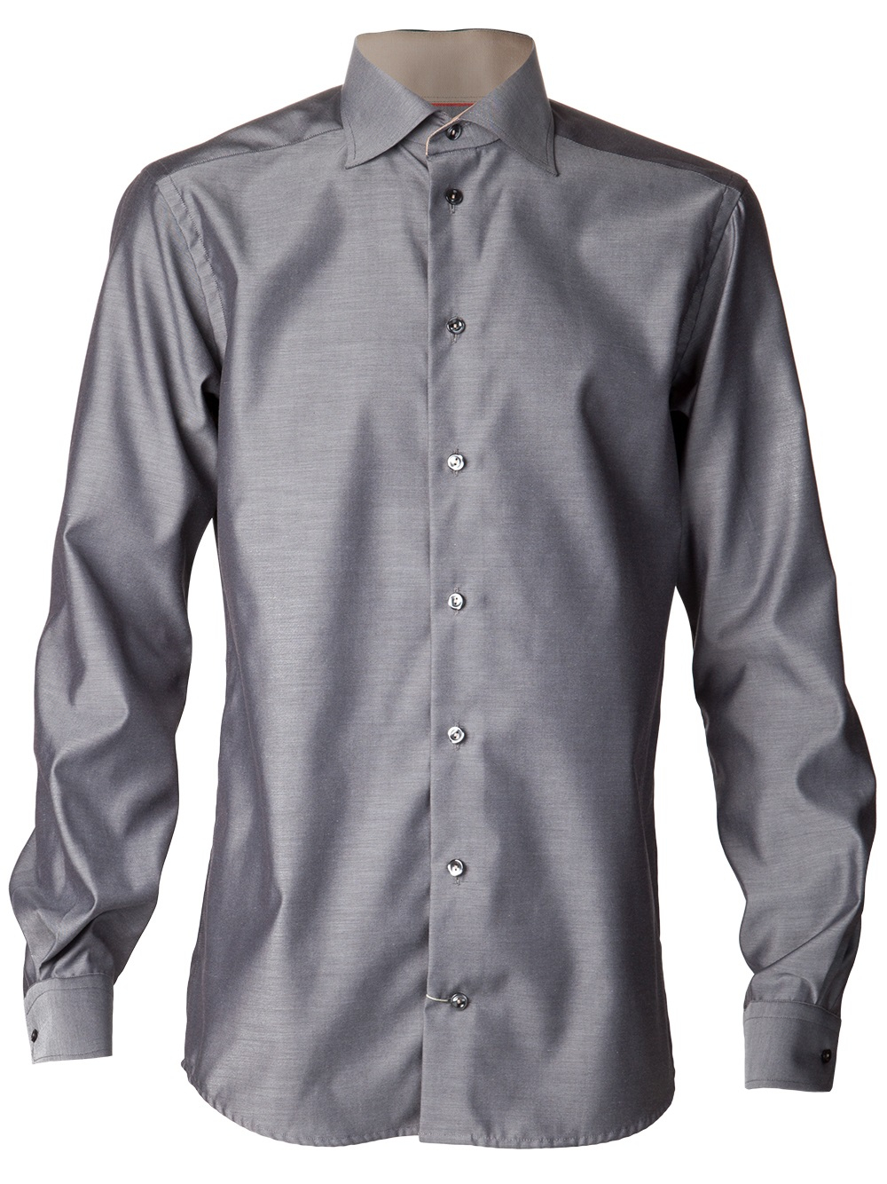 Eton of sweden Button Down Shirt in Gray for Men | Lyst