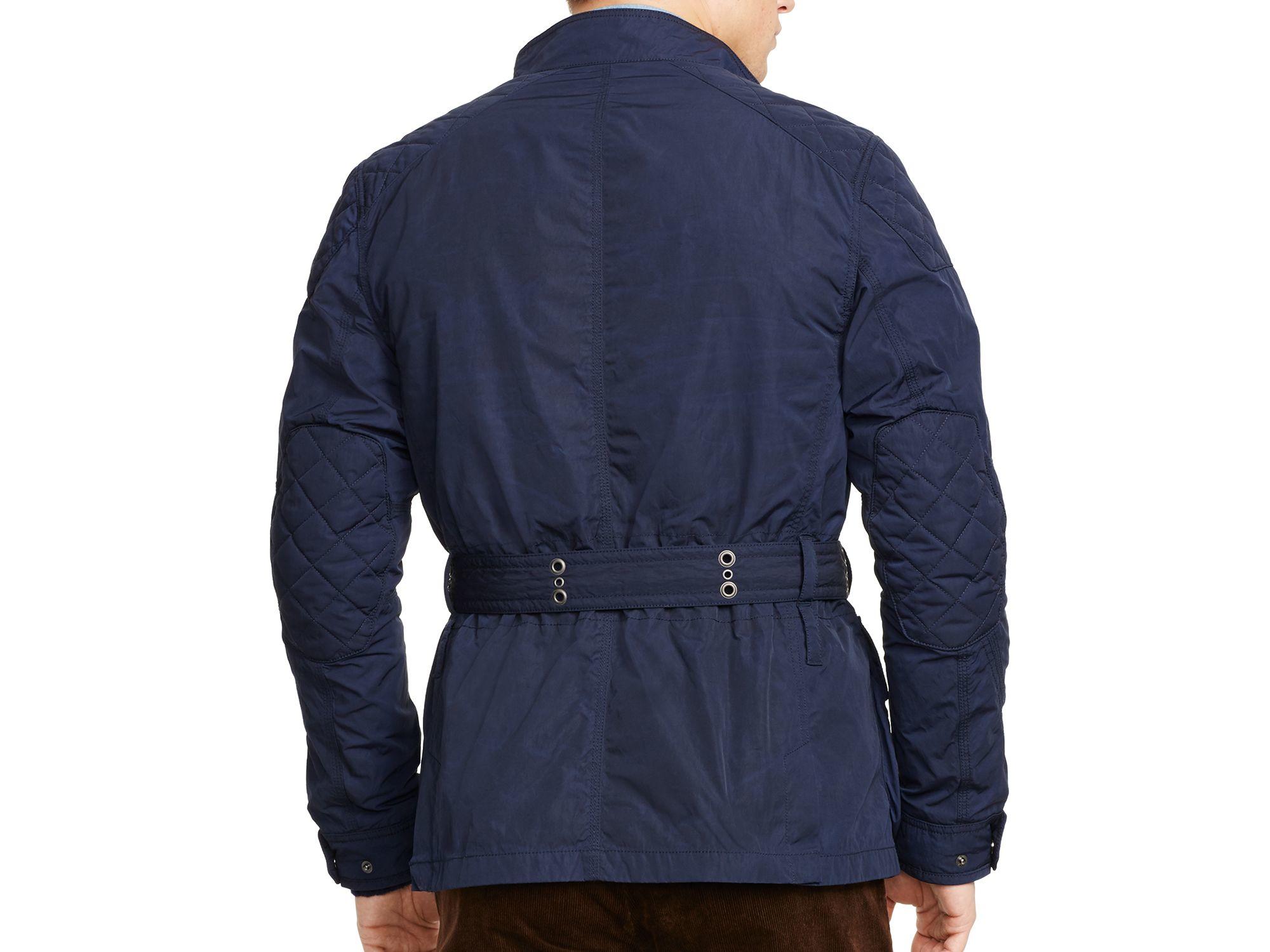 Ralph Lauren Polo 4 Pocket Suspension Jacket In Blue For