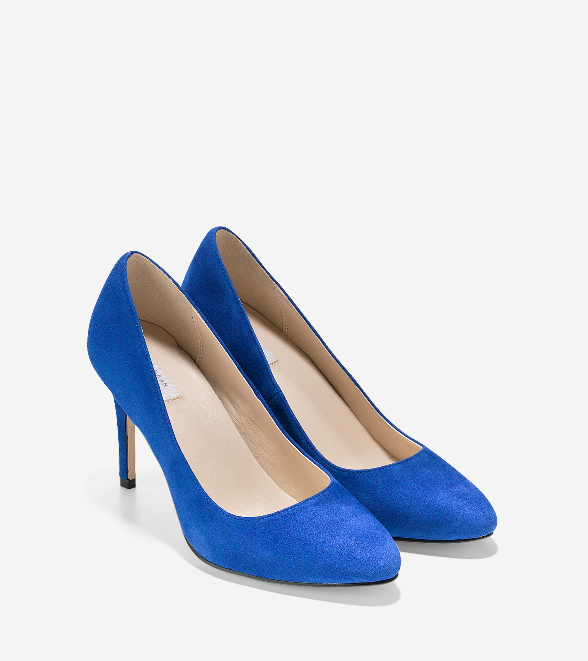 Womens Shoes Cole Haan Fair Haven Pump Marlin Blue Suede