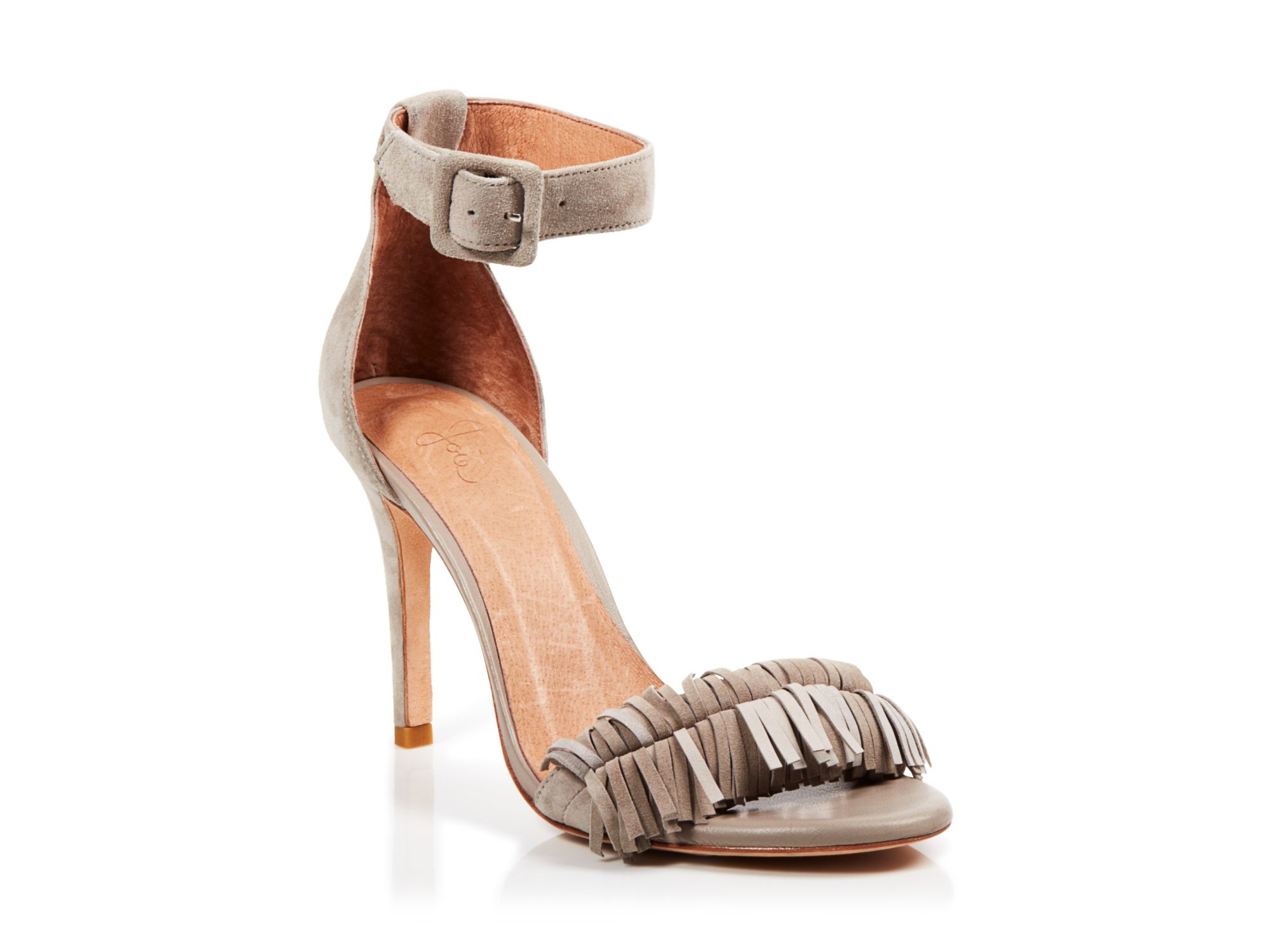 Joie Snakeskin Ankle-Strap Sandals sale latest discount pre order buy cheap reliable cheap sale big discount cheap factory outlet XcmHbGF
