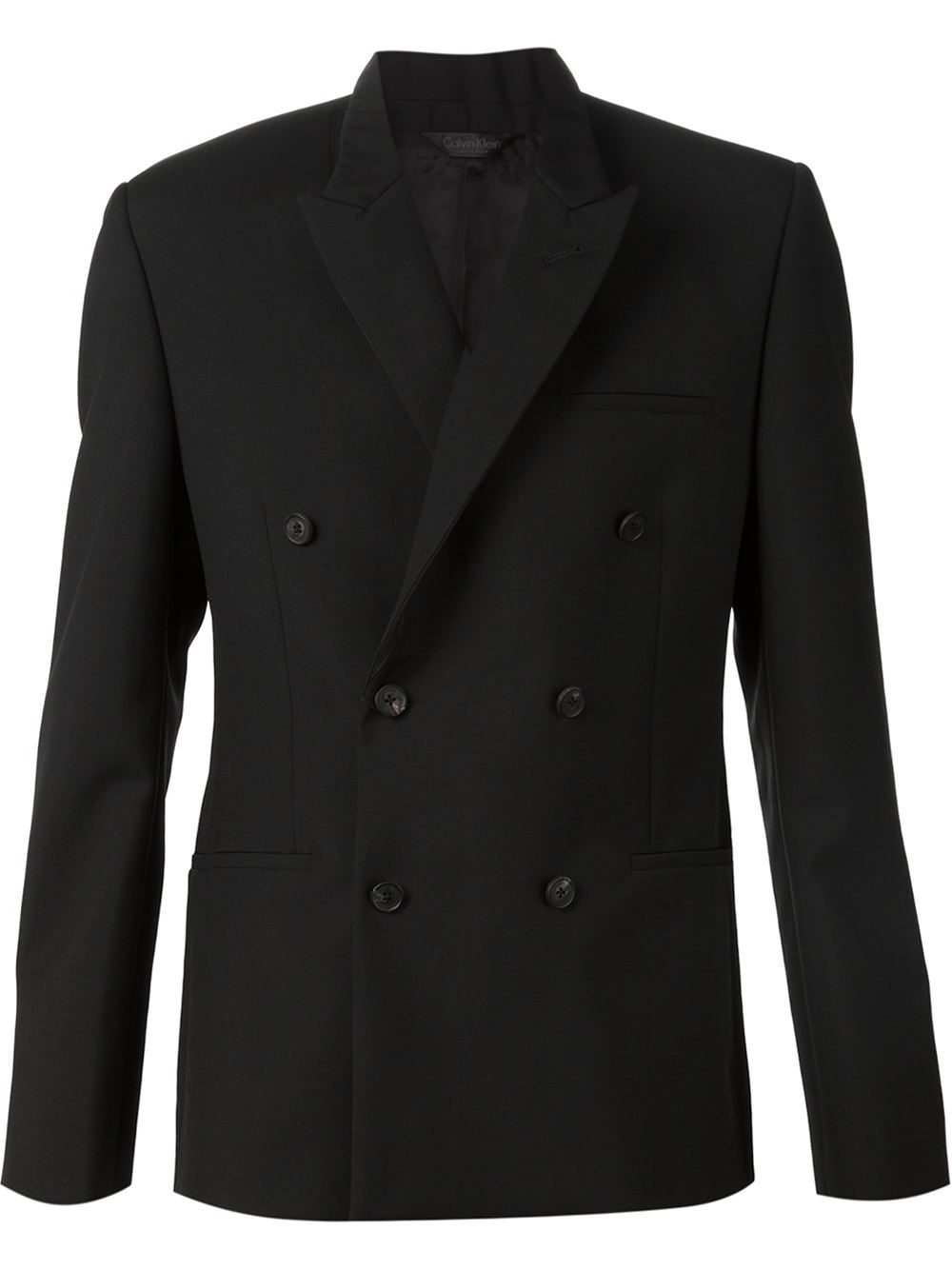A men's black double-breasted blazer matches nearly any ensemble and comes with silver or gold buttons to add a bit of contrast. Look your best when you dress for success in a men's double-breasted blazer, available from the vast inventory on eBay.