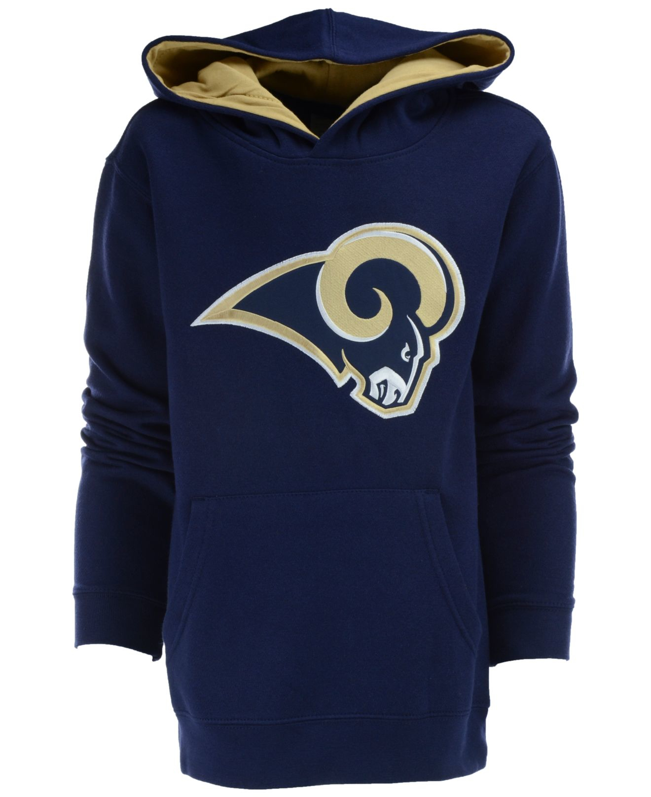 9d6b61c5f905 Lyst - Outerstuff Boys  Los Angeles Rams Sportsman Hoodie in Blue ...