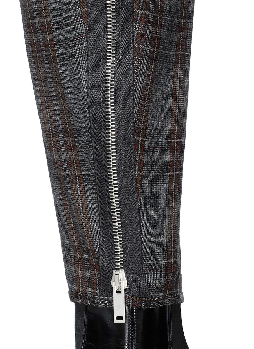 Alexander mcqueen Plaid Cargo Pants for Men   Lyst