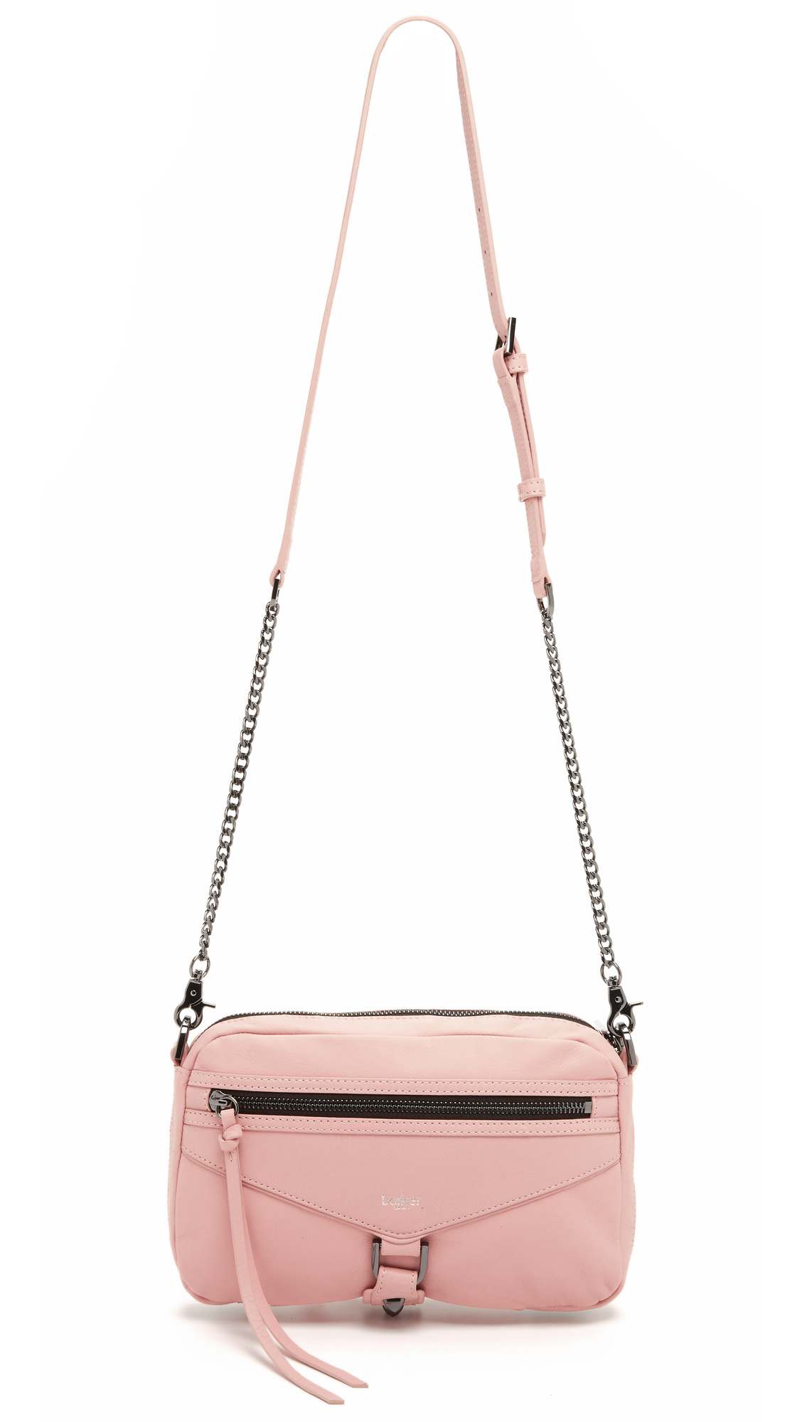 Botkier Trigger East / West Cross Body Bag in Blush (Pink)
