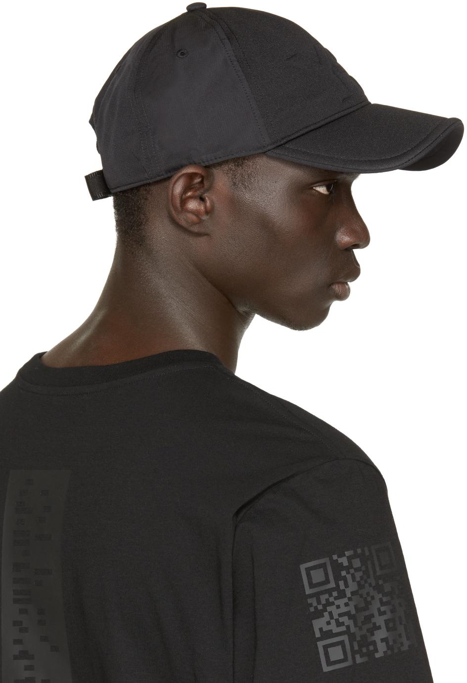 4836ecfeb Y-3 Black Logo Cap in Black for Men - Lyst