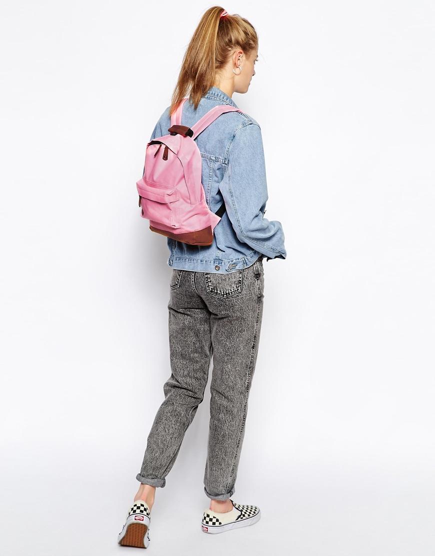 Mi Pac Mini Classic Backpack In Pink