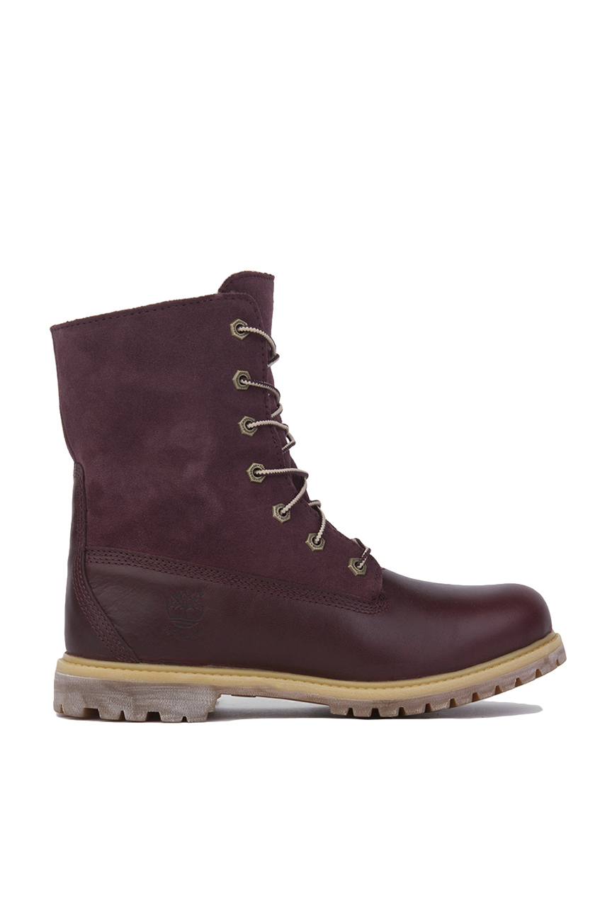 Timberland Women S Authentics Teddy Fleece Fold Down Boots