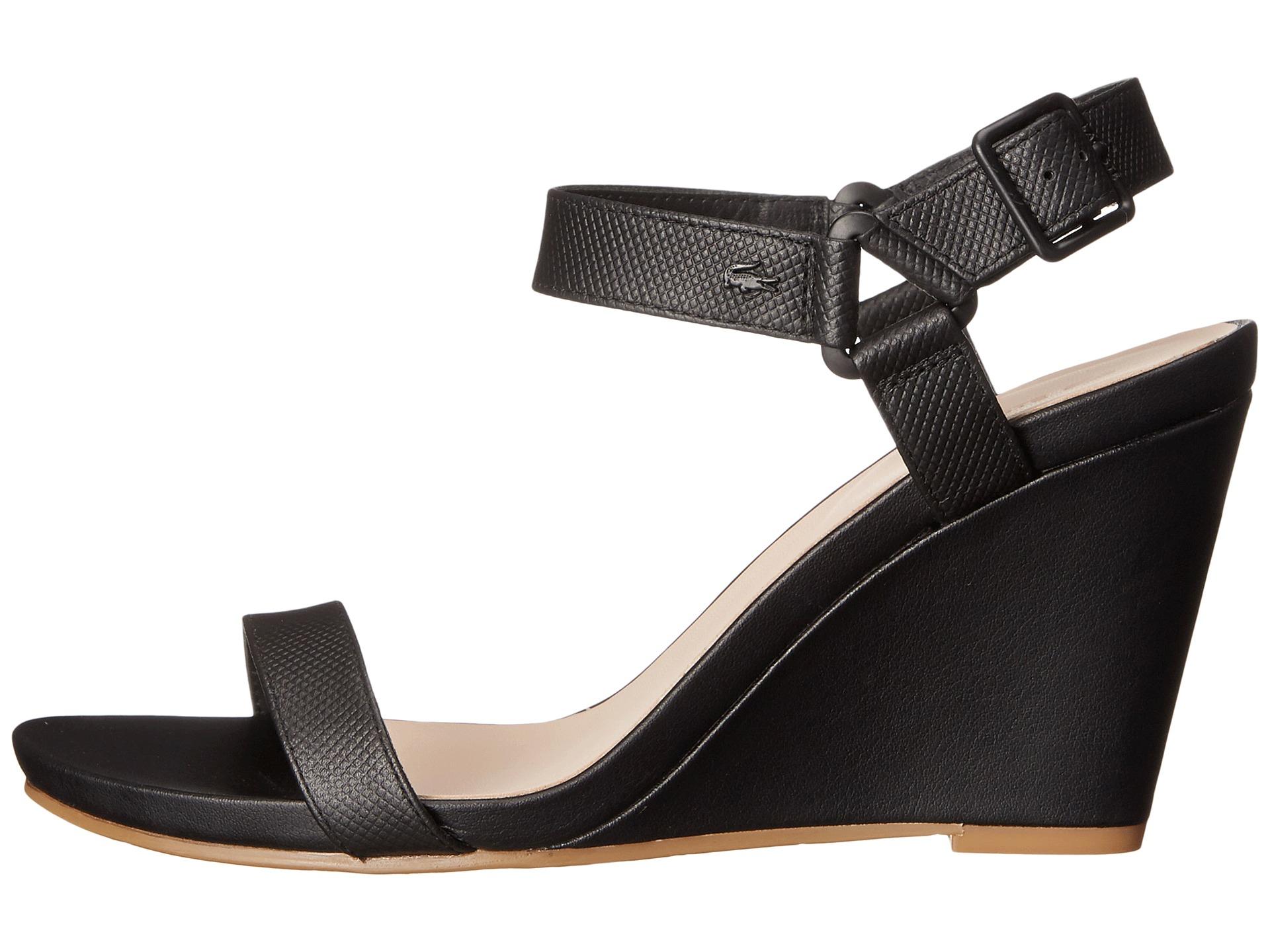 lacoste high heels