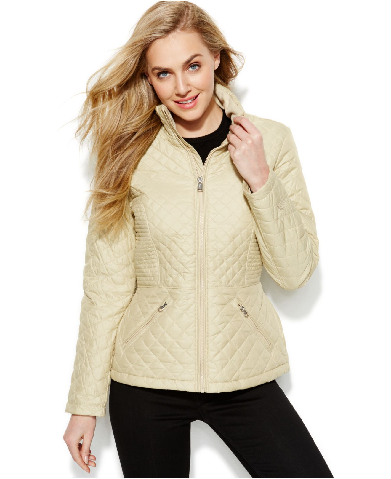 cd304fbc2b26 Lyst - The North Face Insulated Luna Jacket in Natural