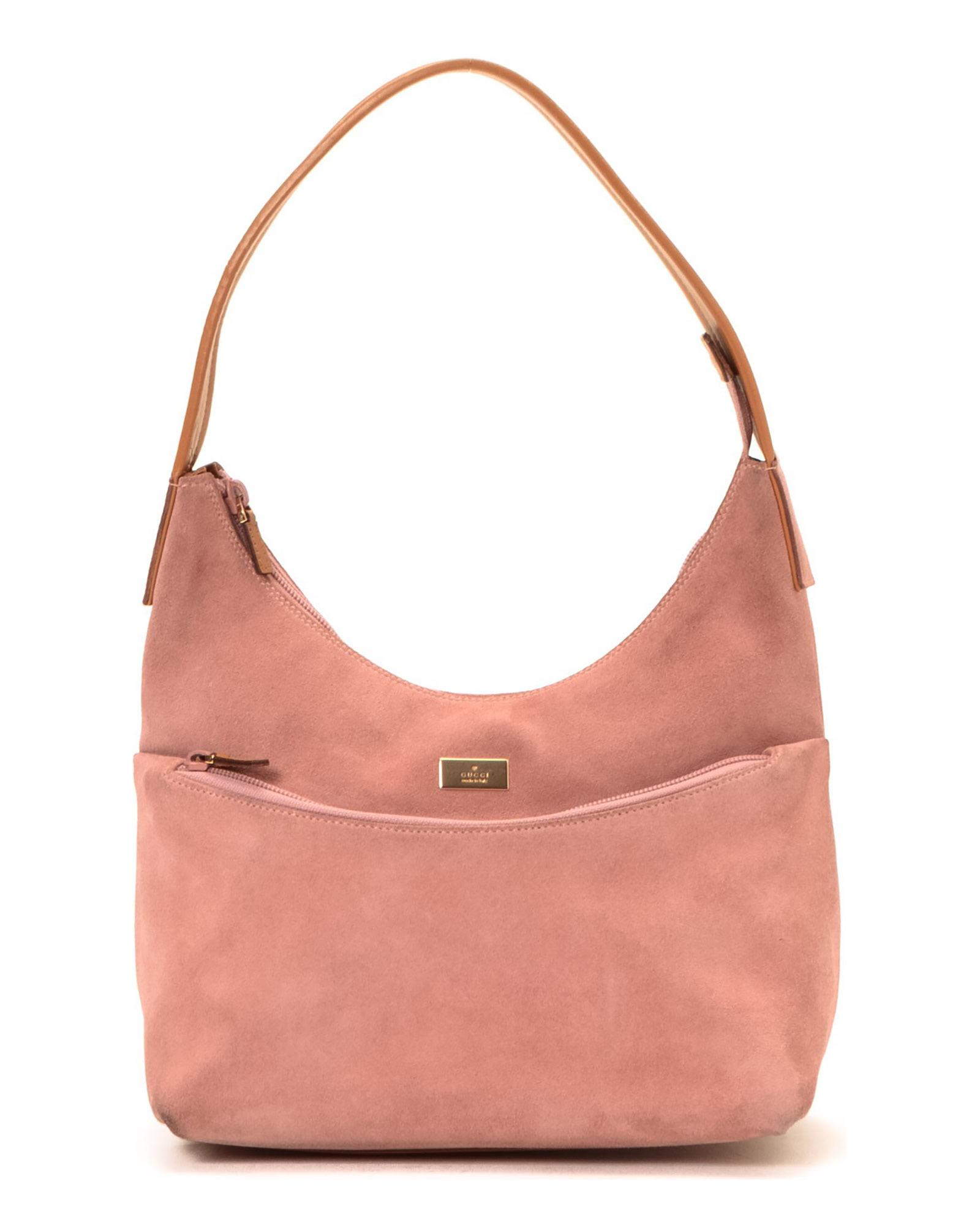 Lyst - Gucci Pink Shoulder Bag - Vintage in Pink