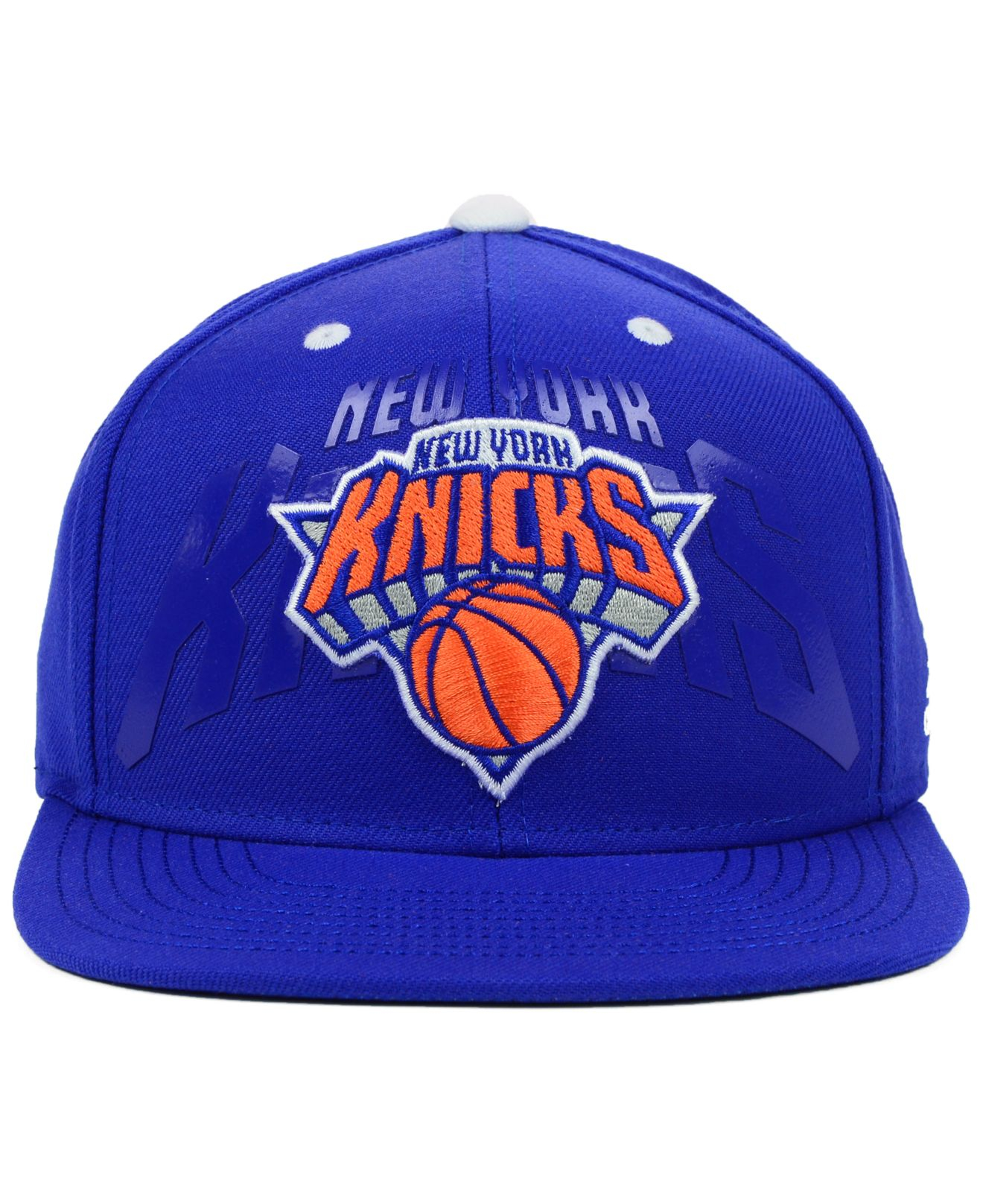 ... lyst adidas new york knicks nba 2014 draft snapback cap in blue for men  cheap for . ... 1722977a4e27