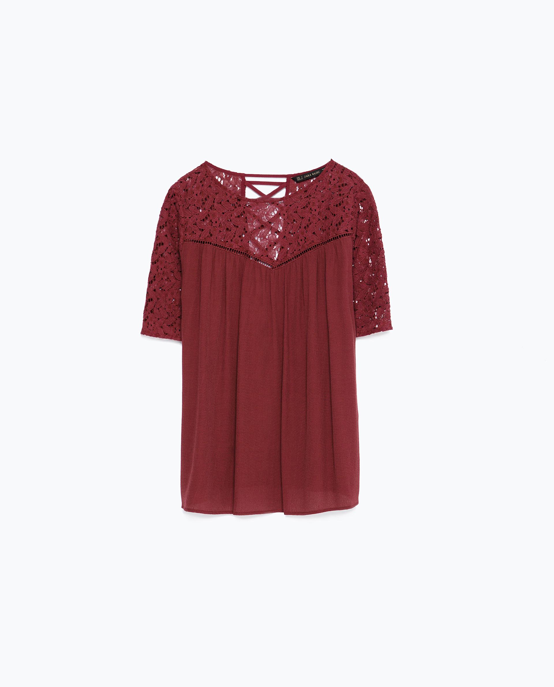 Zara Purple Blouse 23