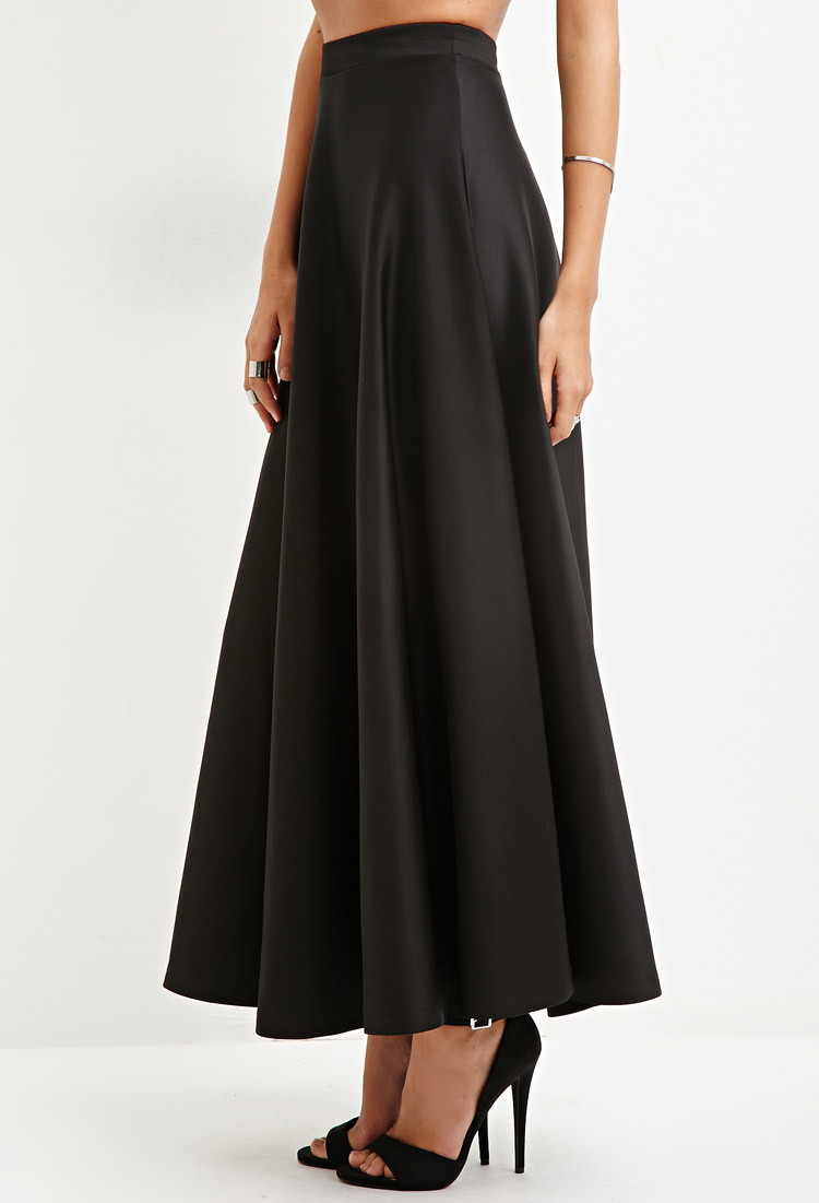 Forever 21 A-line Maxi Skirt You've Been Added To The Waitlist in ...