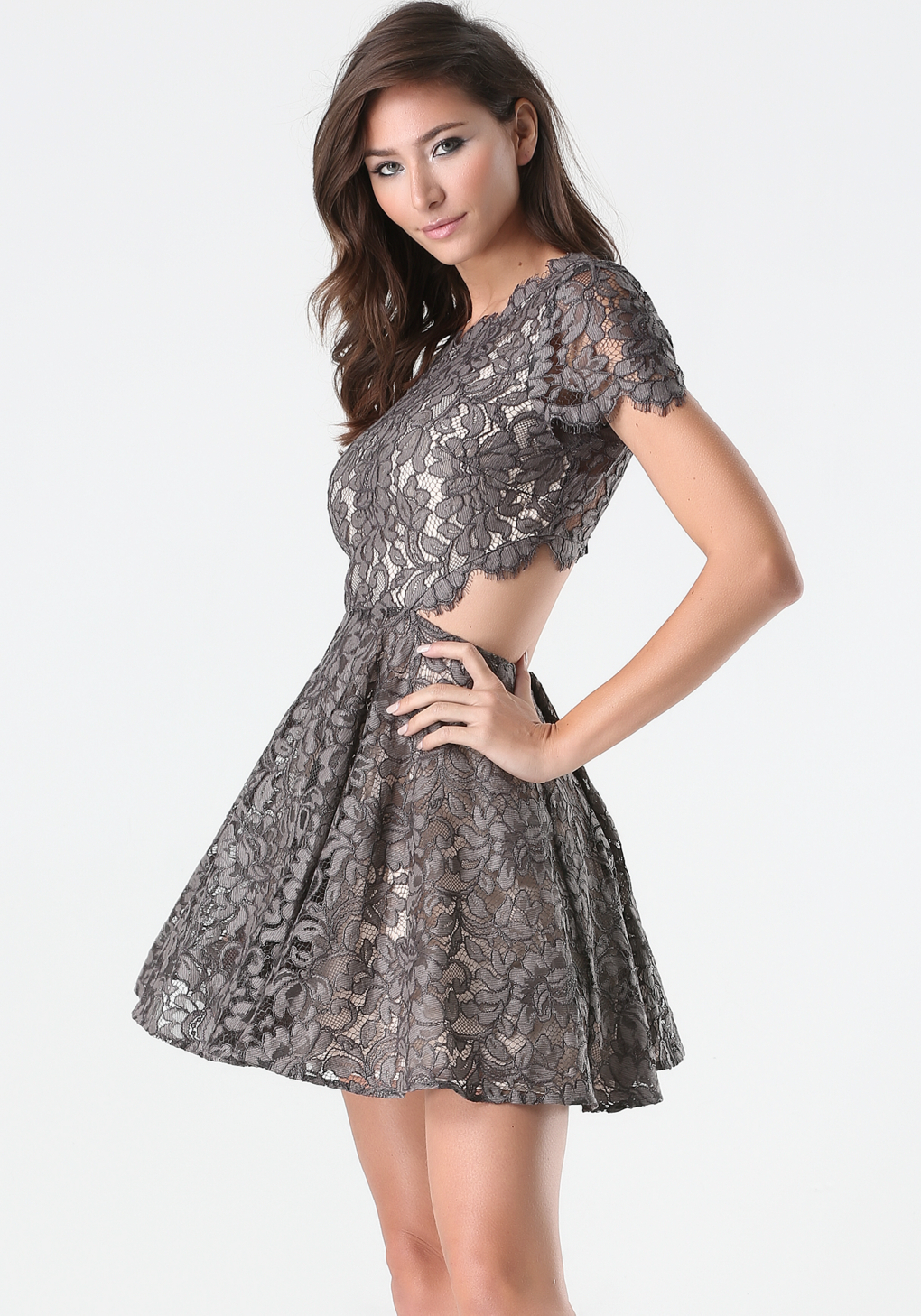 Shop for and buy grey lace dress online at Macy's. Find grey lace dress at Macy's.