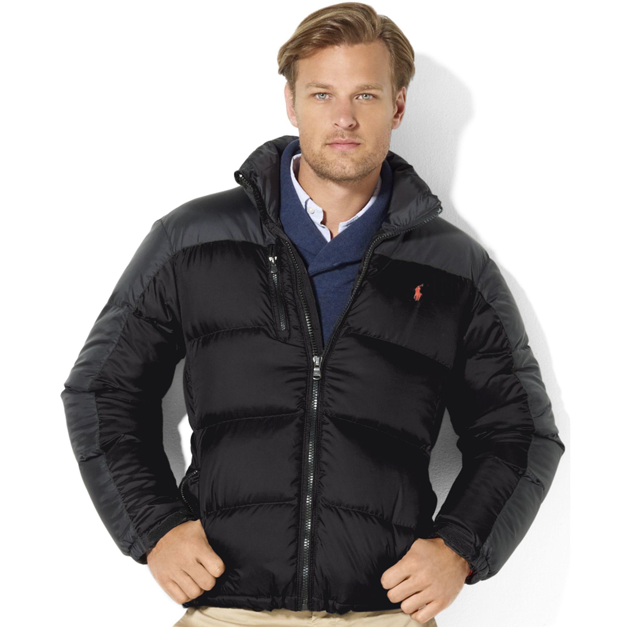 062ab8bf0ca Lyst - Ralph Lauren Snow Polo Core Trek Down Jacket in Black for Men