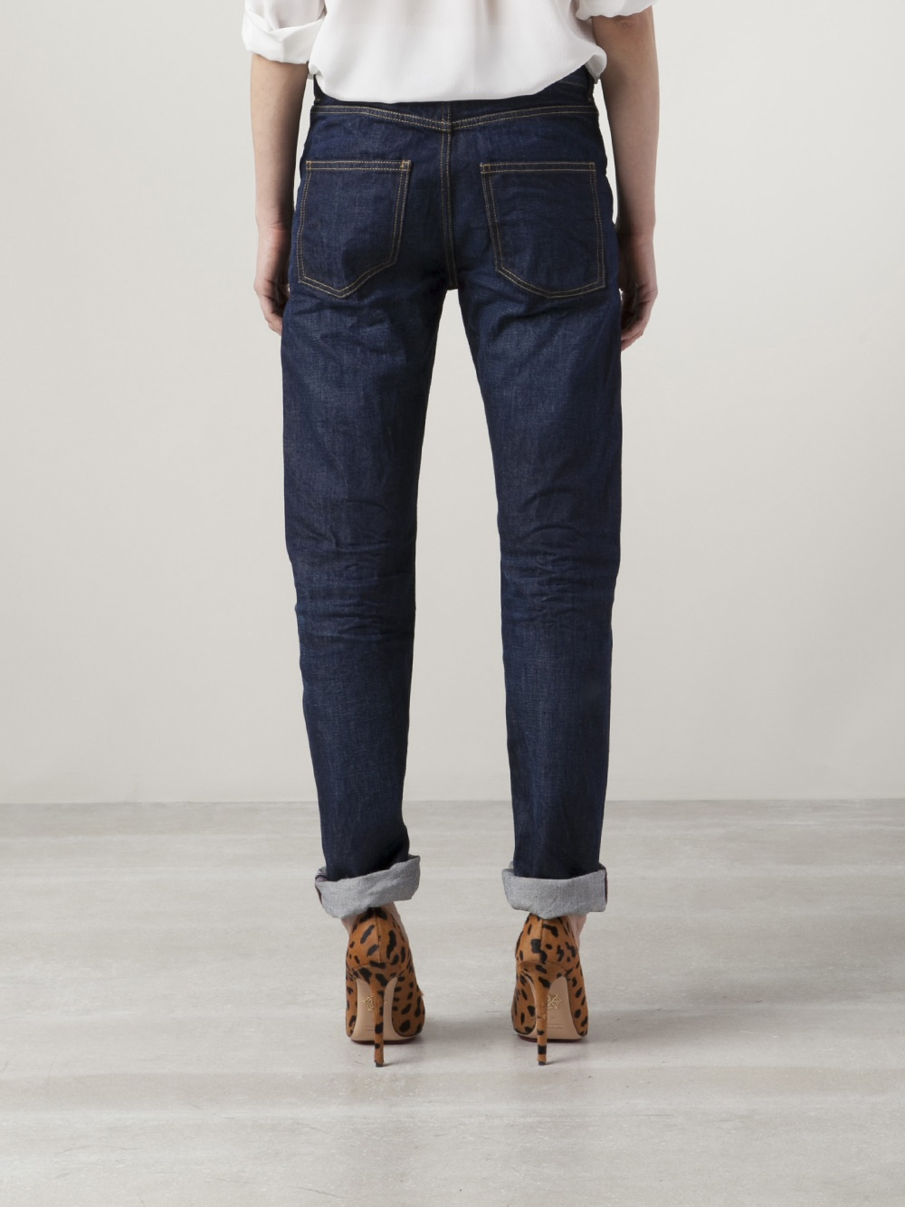 closed patti boyfriend jeans in blue lyst. Black Bedroom Furniture Sets. Home Design Ideas