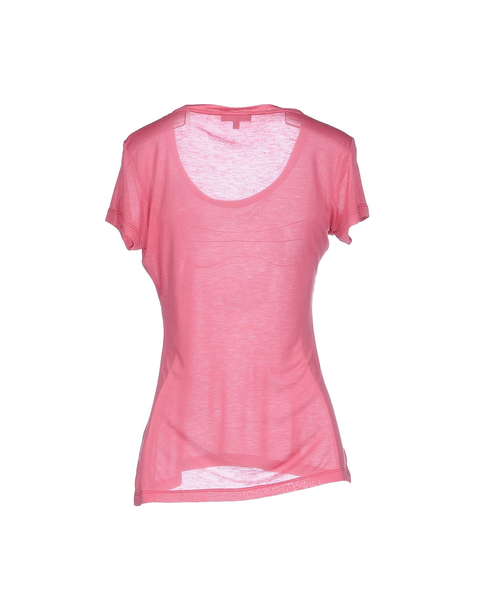 Costume National T Shirt In Pink Pastel Pink Lyst