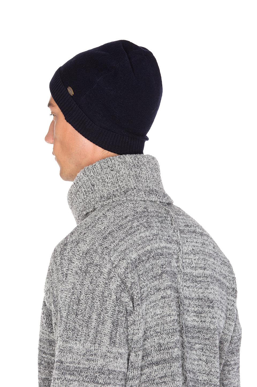 Lyst - Scotch   Soda Beanie In Felted Wool Quality in Black for Men 423ac17ecd8