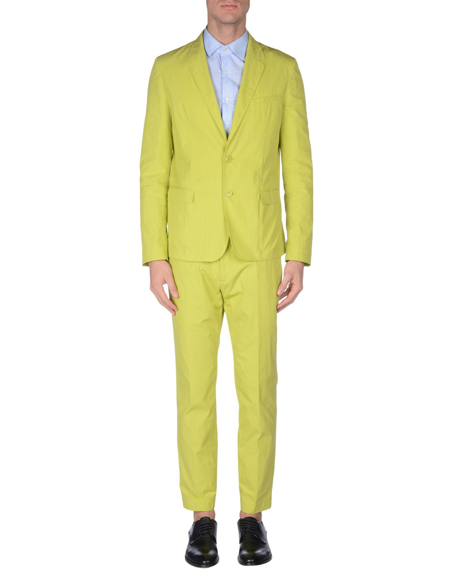 viktor rolf suit in green for men acid green lyst. Black Bedroom Furniture Sets. Home Design Ideas