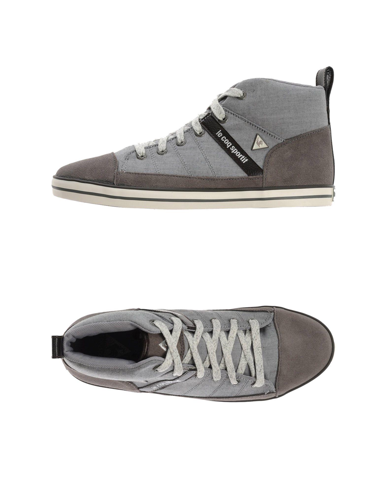 le coq sportif high top sneakers