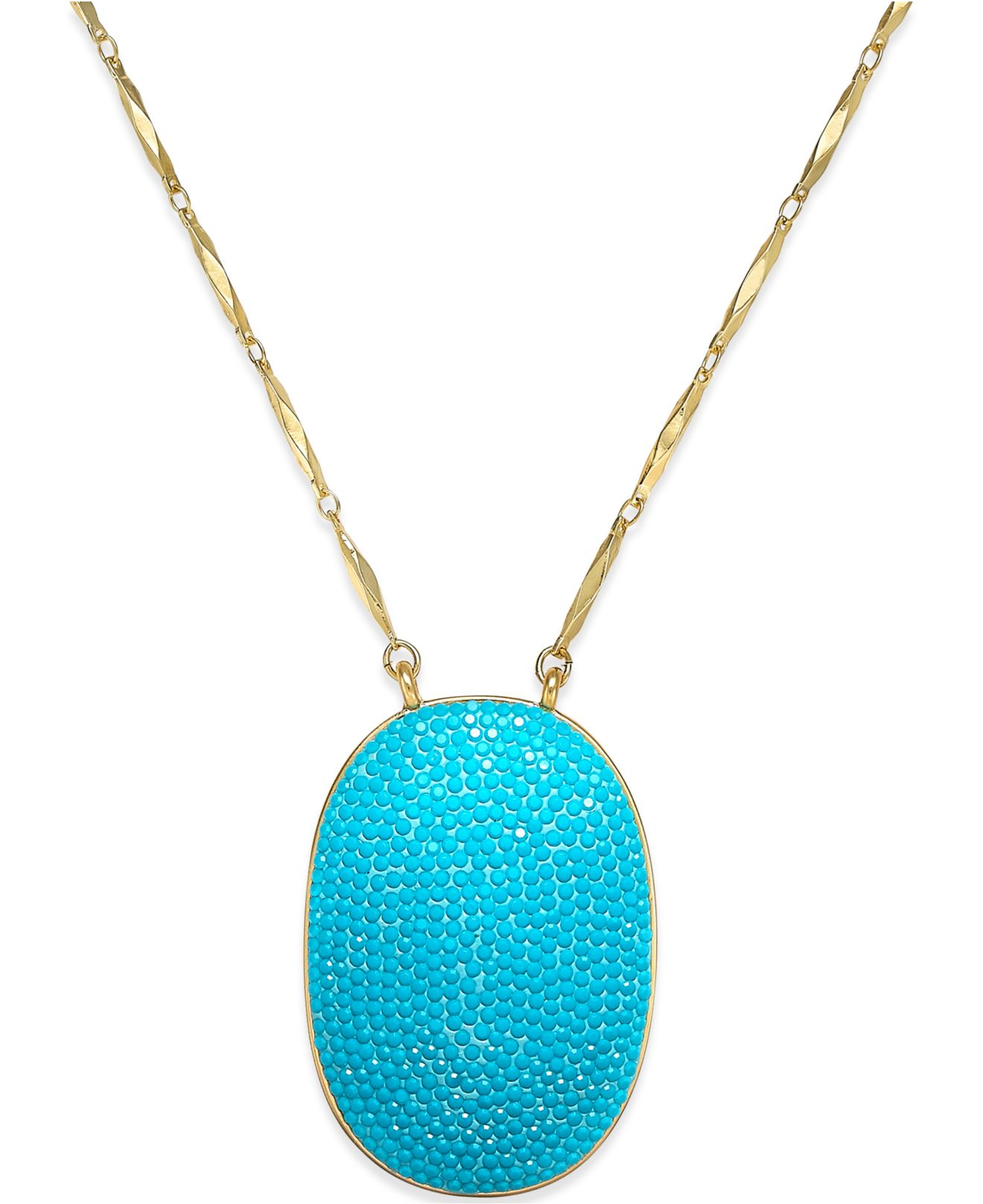 kate spade new york gold tone turquoise colored pav 233
