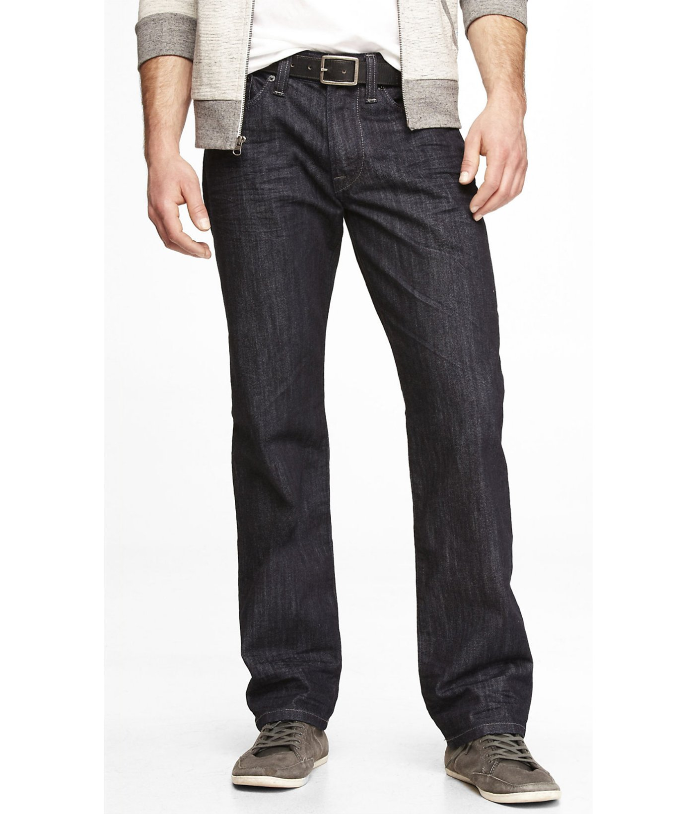 Express Blake Loose Fit Straight Leg Jean in Blue for Men | Lyst