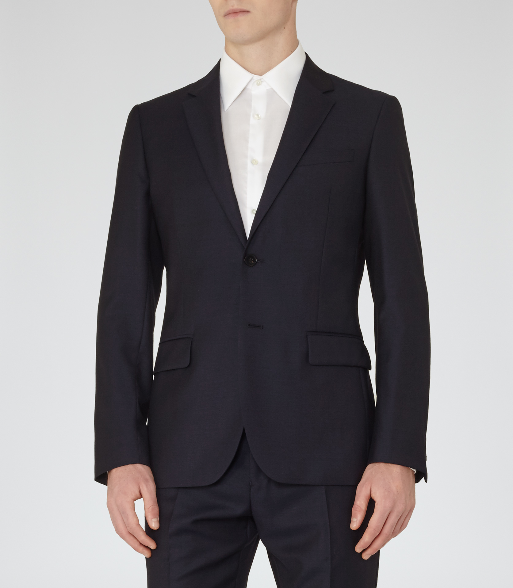 Reiss Harry B Modern Fit Blazer in Navy (Blue) for Men