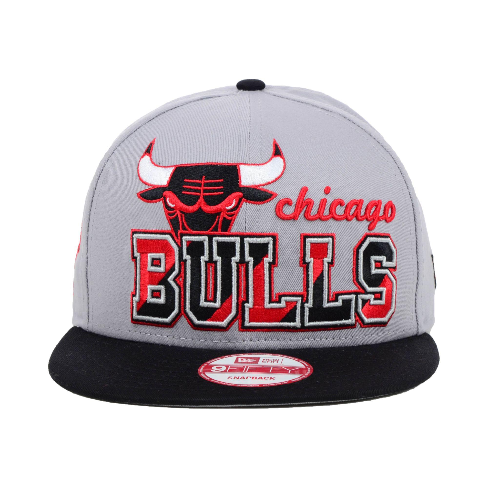 1be15ff98a4 Lyst - KTZ Chicago Bulls Nba Hardwood Classics Zone Press 9Fifty ...