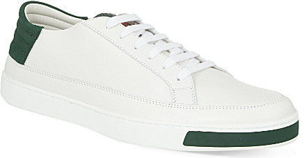 6e6fc5ee3b904 Gucci Leather Low-Top Trainers - For Men in White for Men - Lyst