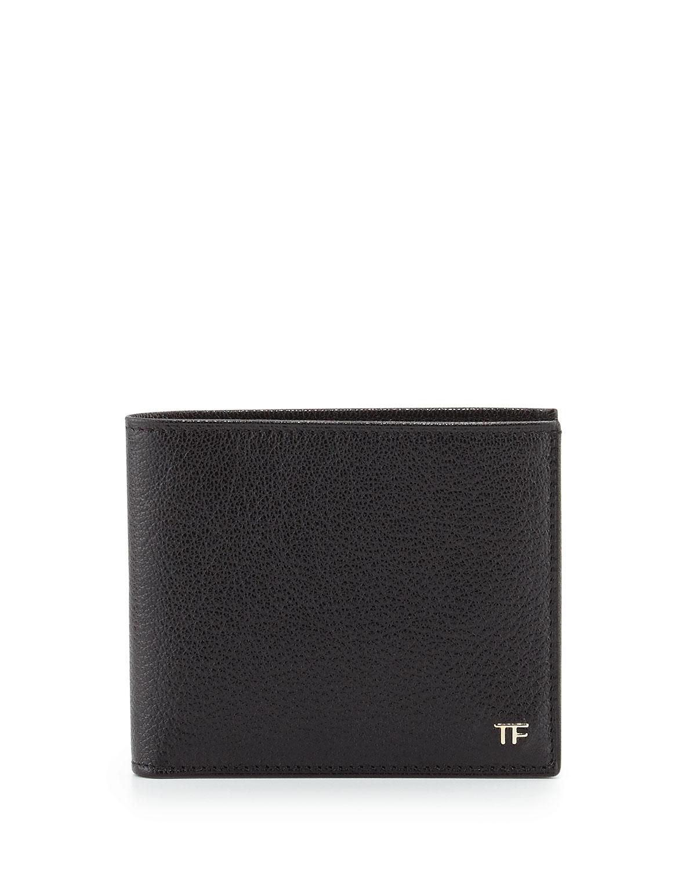 lyst tom ford leather billfold wallet in black for men. Black Bedroom Furniture Sets. Home Design Ideas