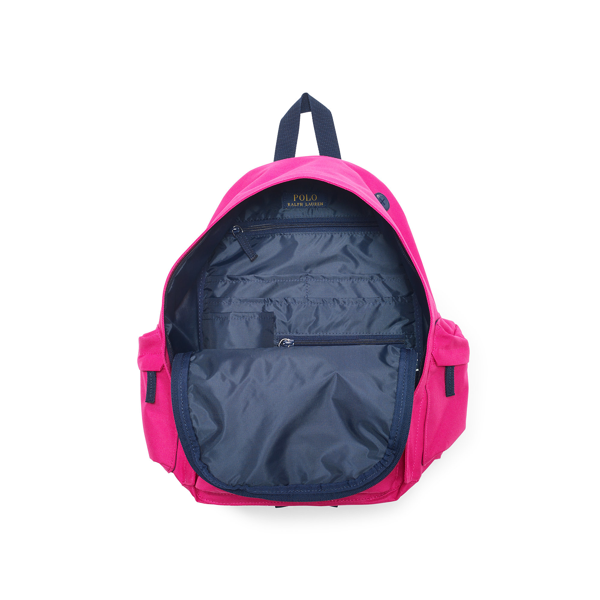 c1966dac07790 Lyst - Ralph Lauren Big Pony Large Backpack in Purple